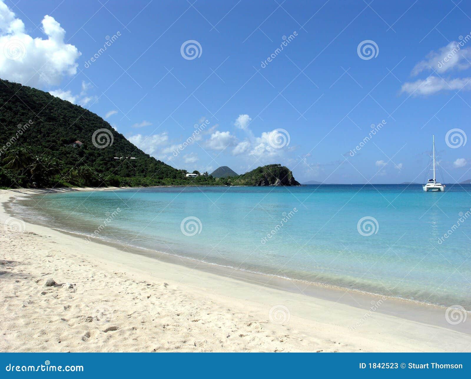 Ensenada Tortola BVI de los contrabandistas