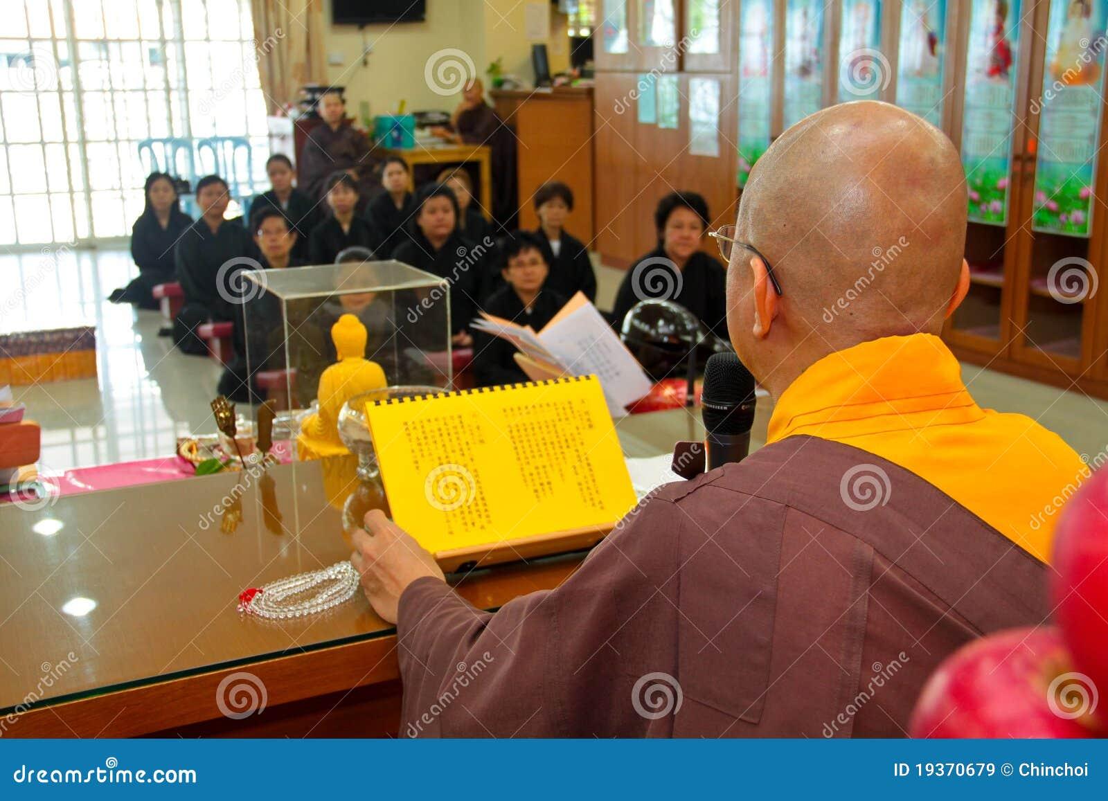 Ensino de Buddhish por Mestre