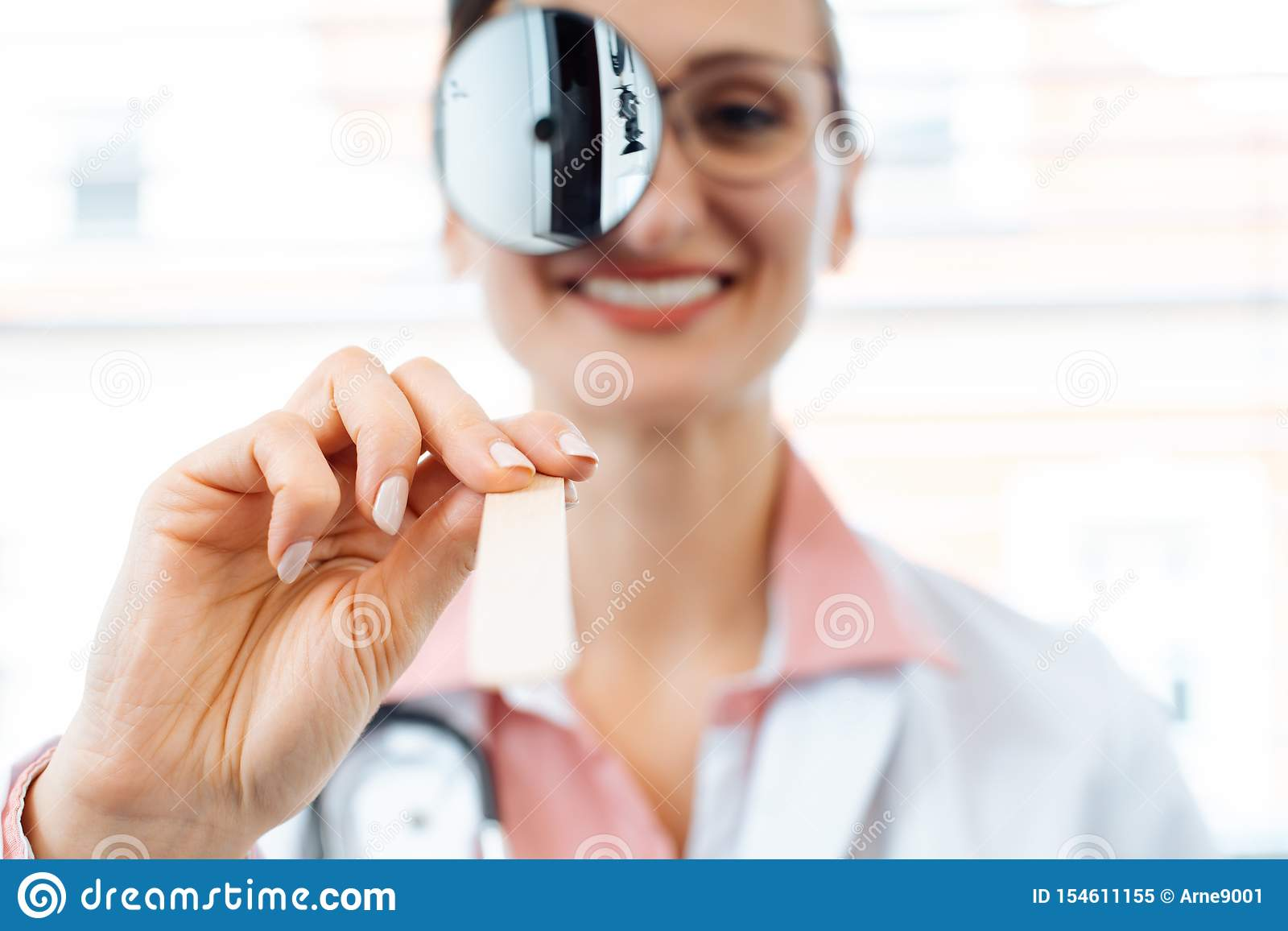Ent Specialist Getting Ready For An Examination Stock Image Image Of Patient Surgery 154611155