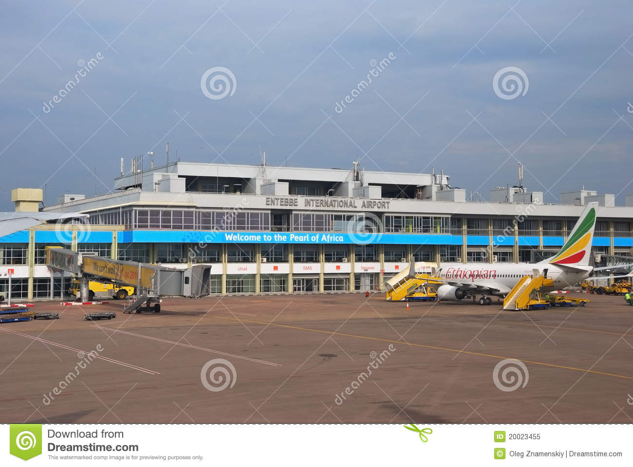 Entebbe International Airport Editorial Image Image