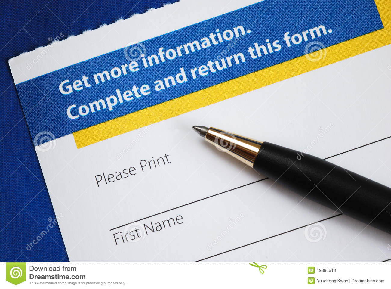 Enter the form to request more information