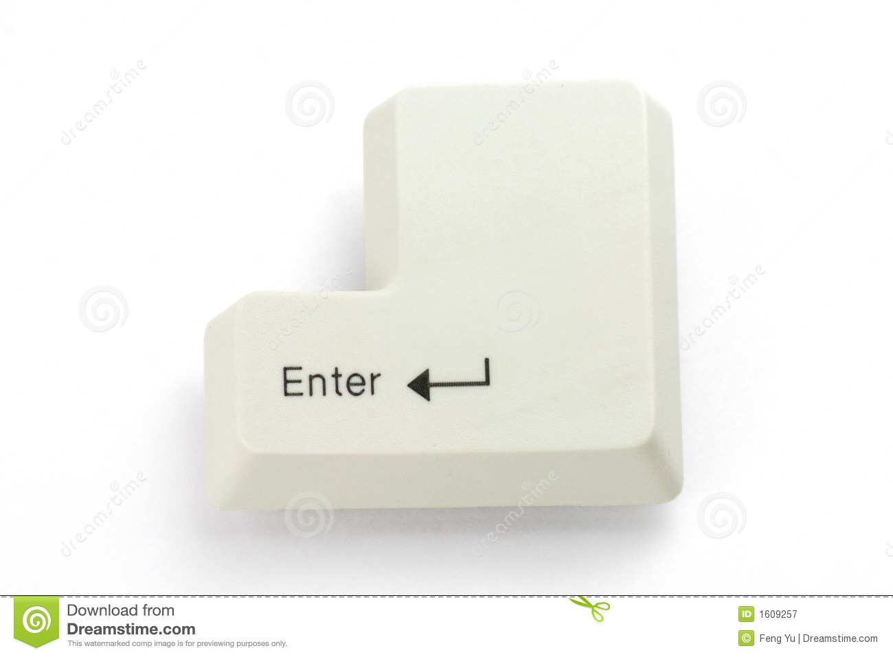 Enter Key Royalty Free Stock Photography - Image: 1609257