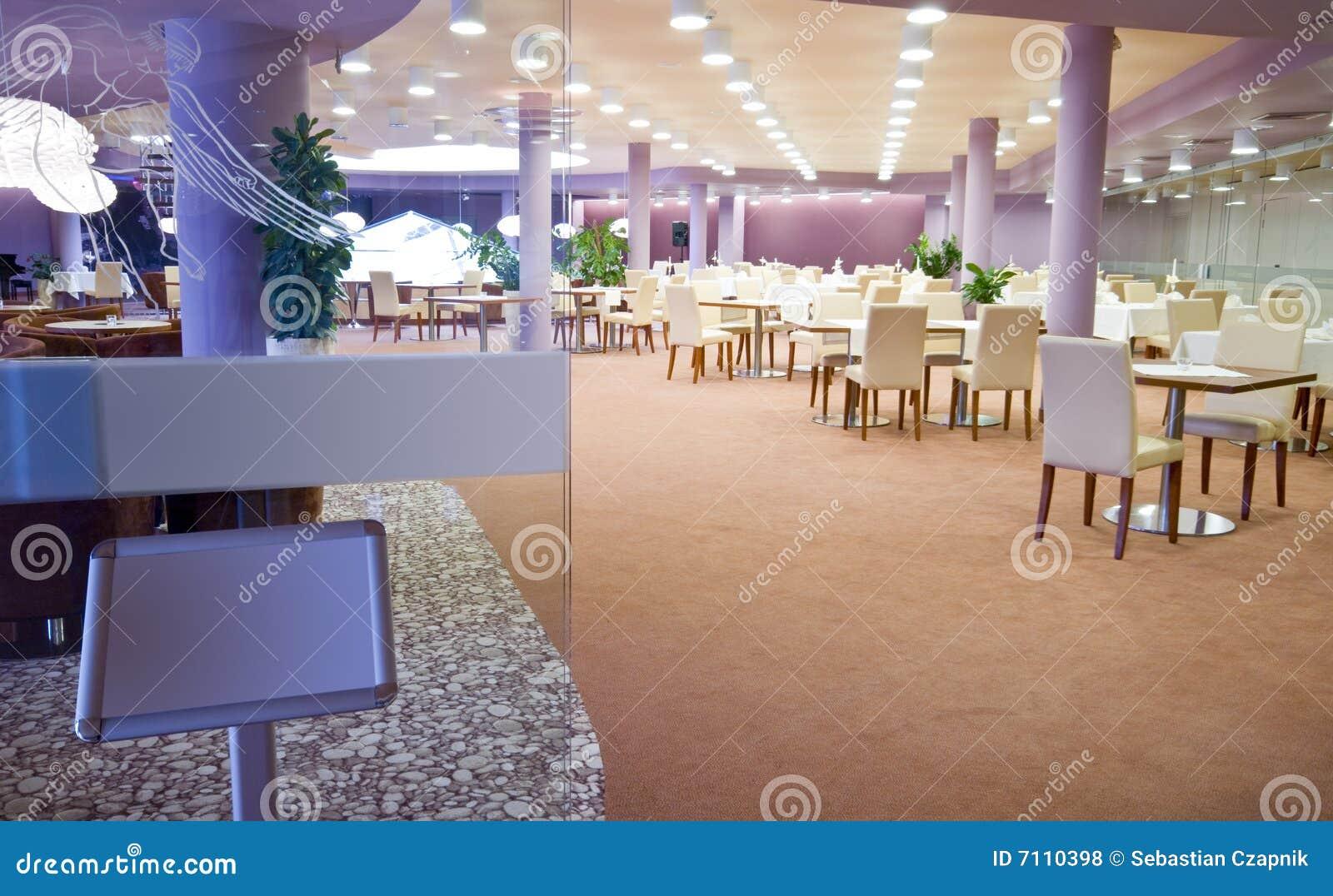 Enter restaurant