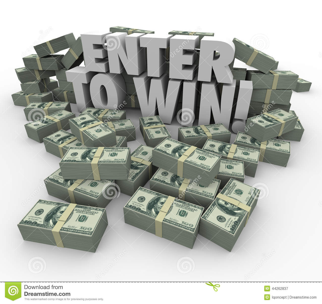 raffle stock photos images pictures images enter to win 3d words cash money stacks contest raffle lottery royalty stock photography