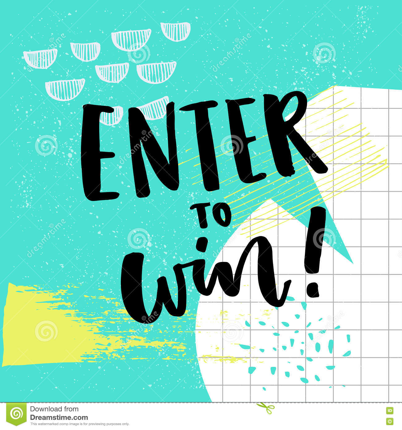 giveaway stock illustrations giveaway stock illustrations enter to win text for giveaway social media contest vector banner colorful abstract background