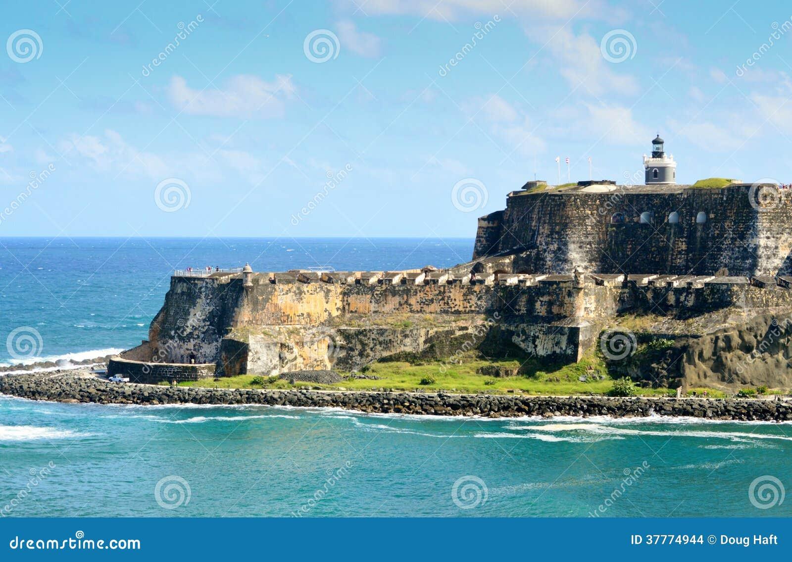 Enterance a San Juan Harbor