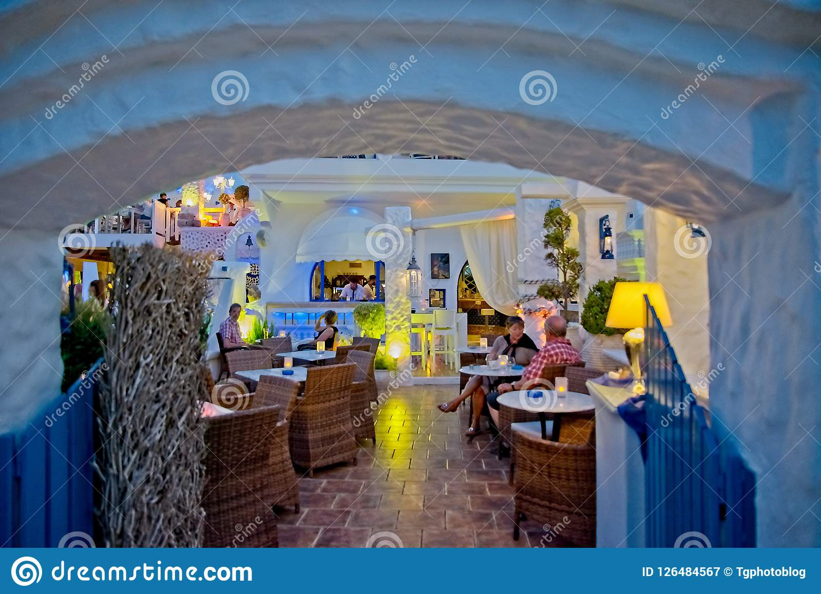 Cavo Tango, Italian Restaurant In Ixia/Ialyssos Rhodes
