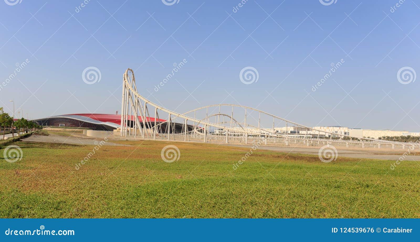 Entertainment Center Ferrari World In Abu Dhabi Stock ...