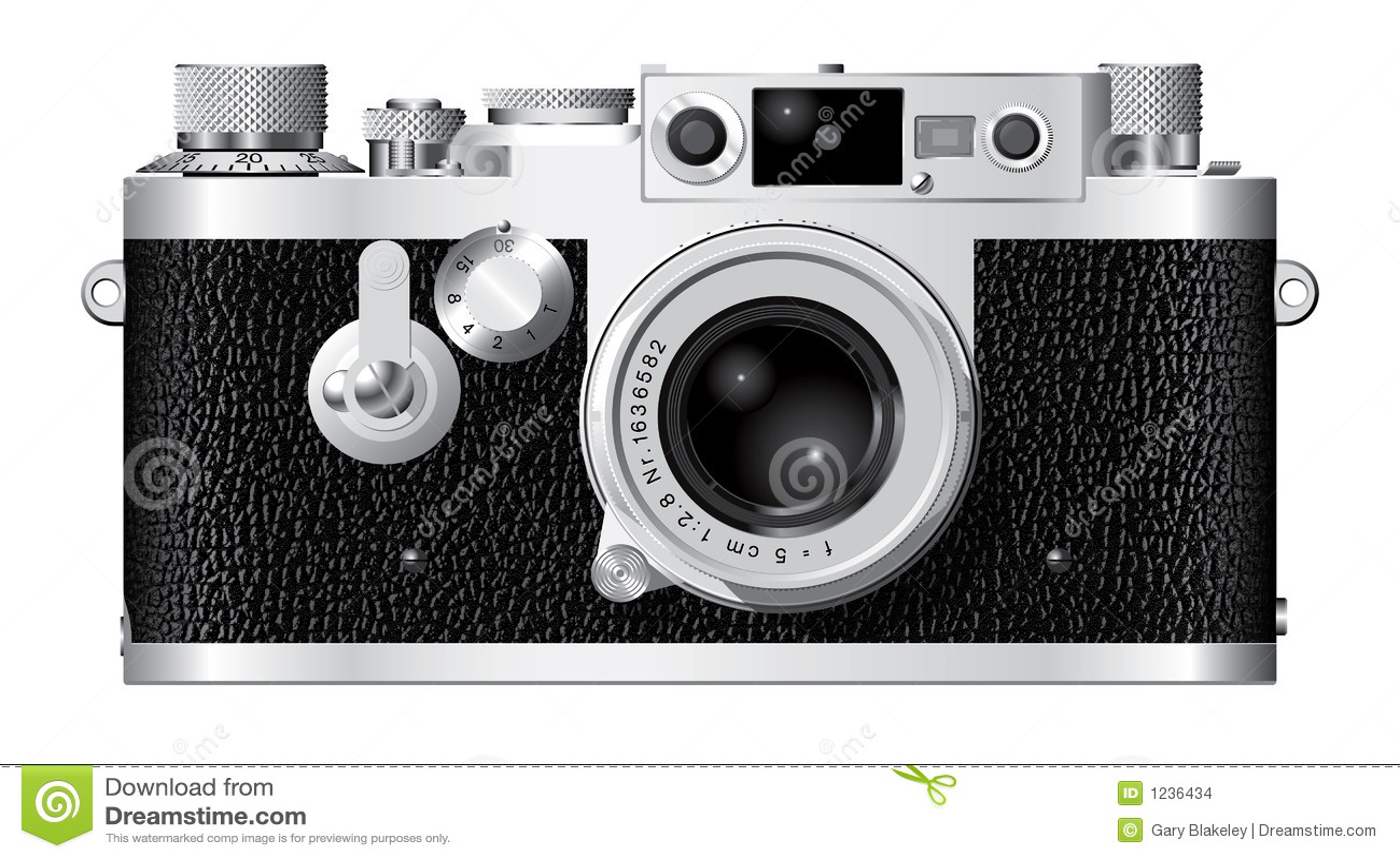 Entfernungsmesser kamera iii vektor abbildung illustration von
