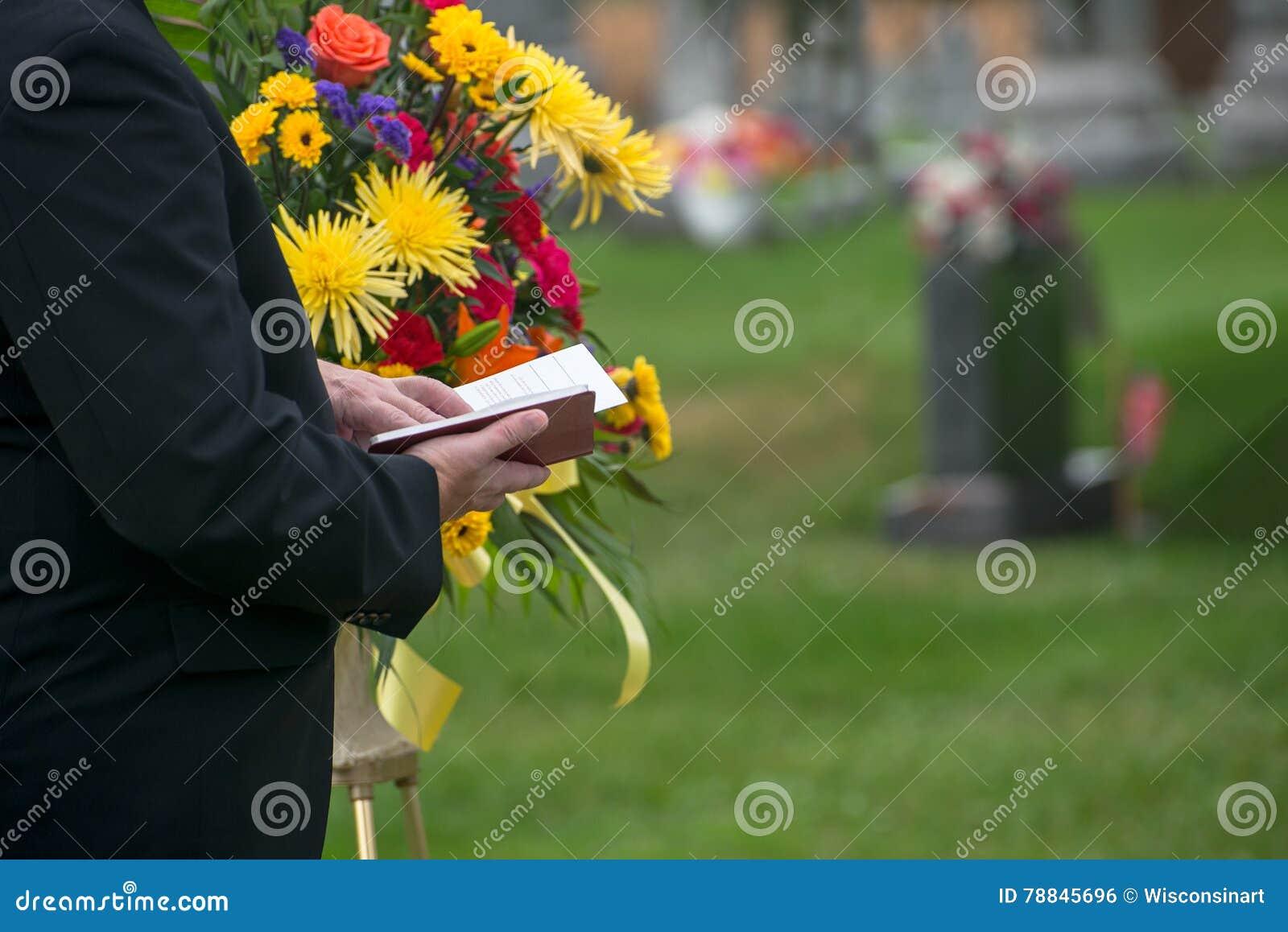 Entierro, servicio de entierro, muerte, pena