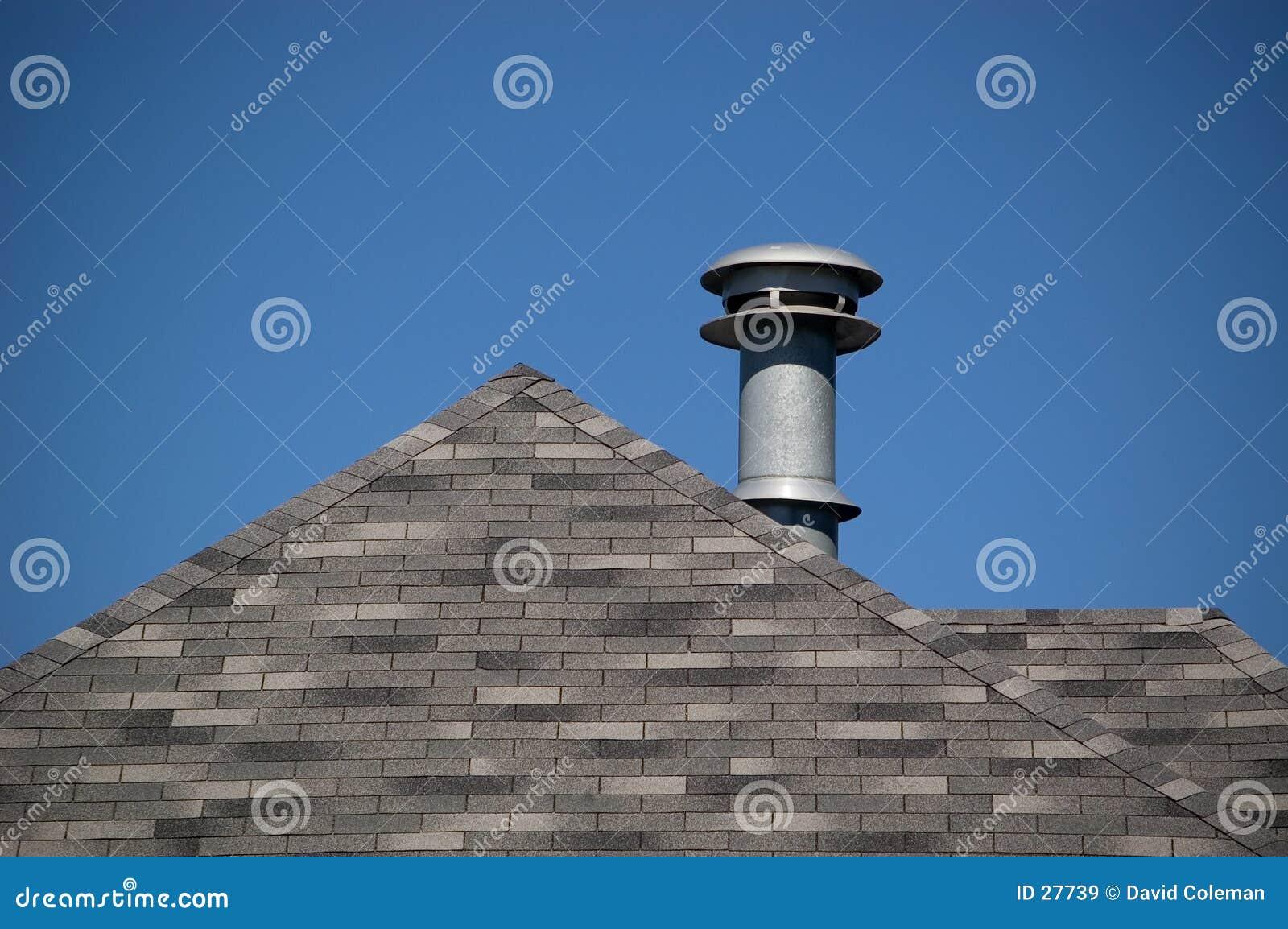 Entlüftungsöffnung und Dach