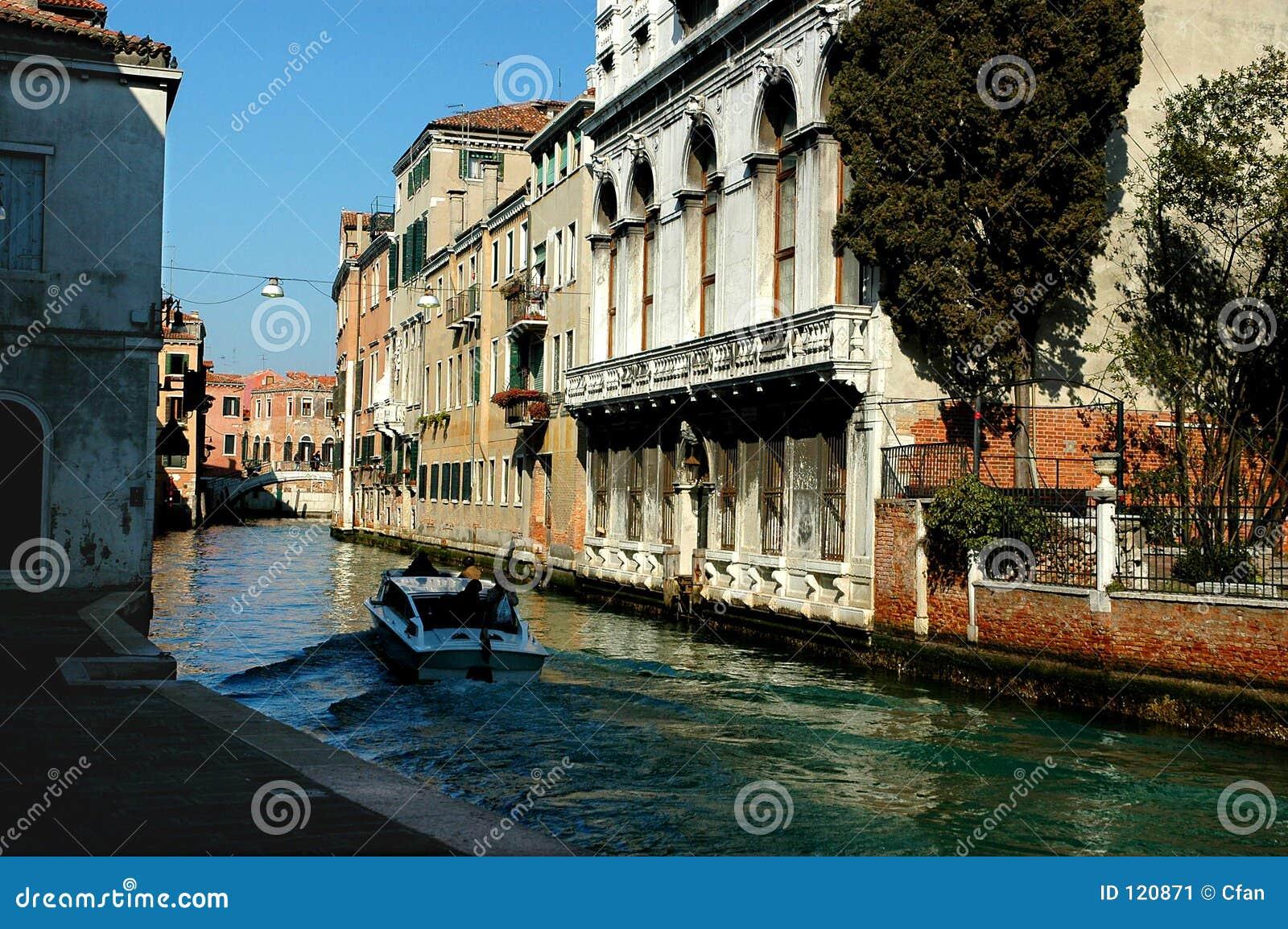 Entlang den Straßen der Venedig-Serien