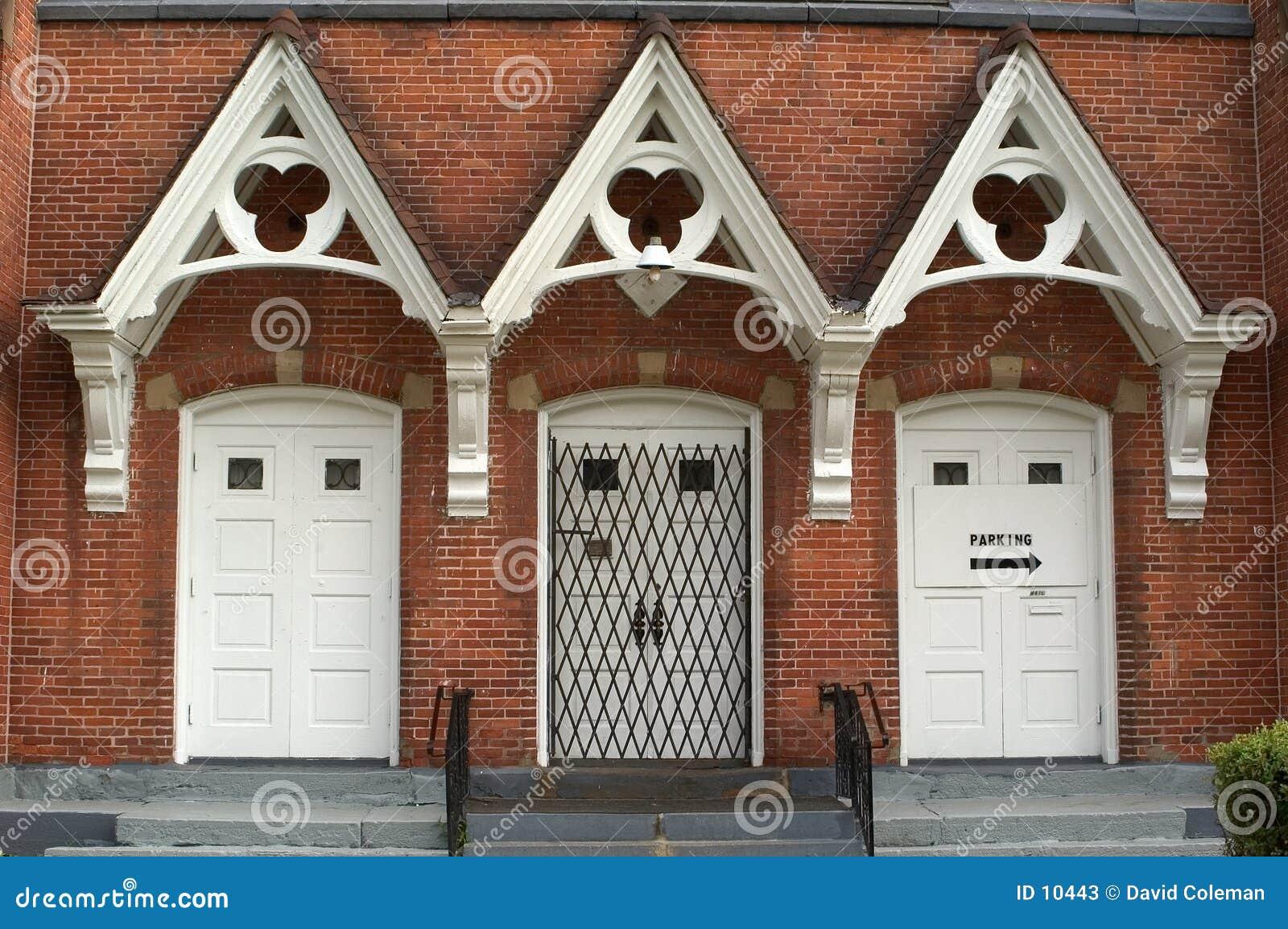 Entrée d église