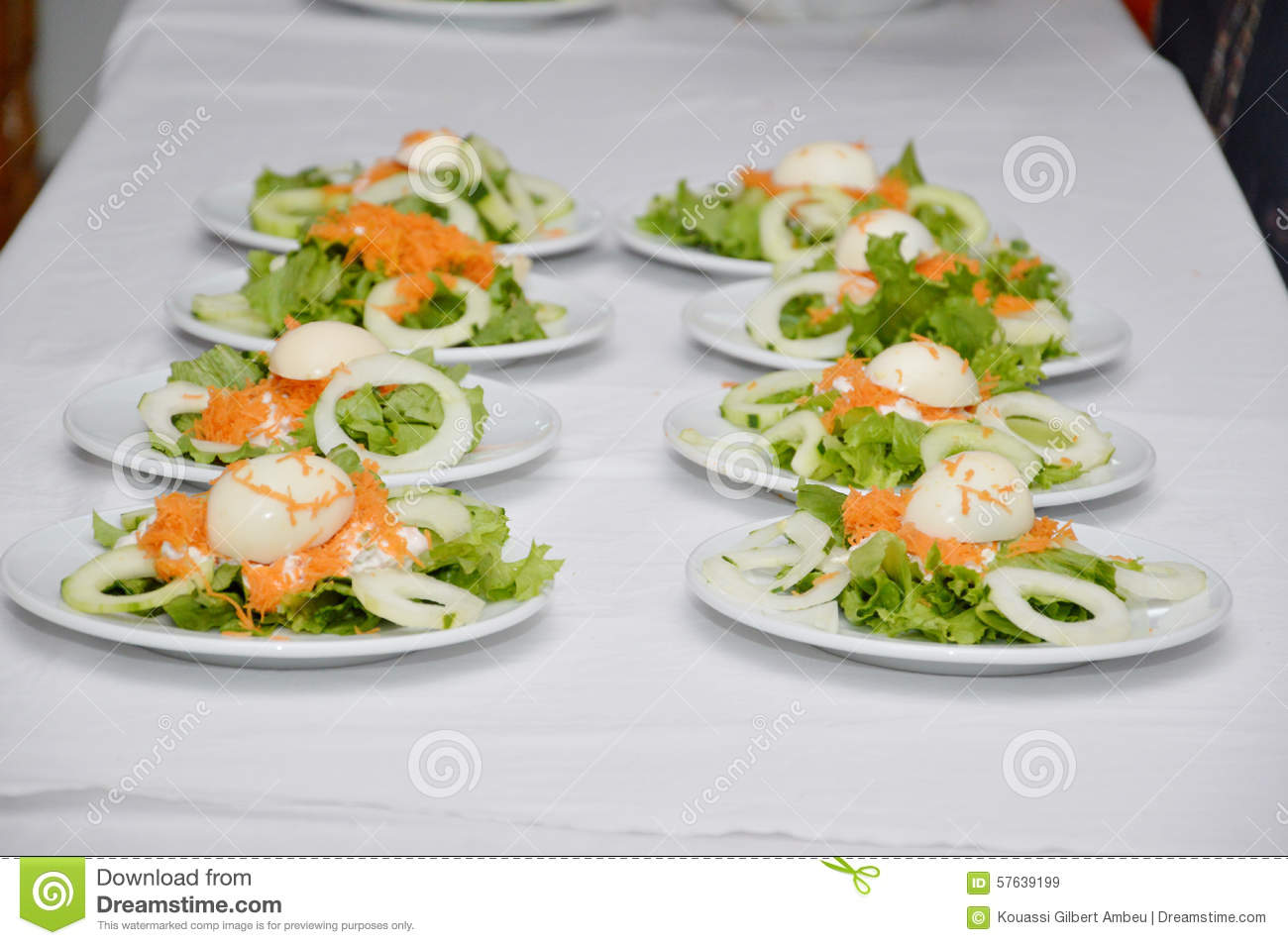 entr e de repas photo stock image 57639199
