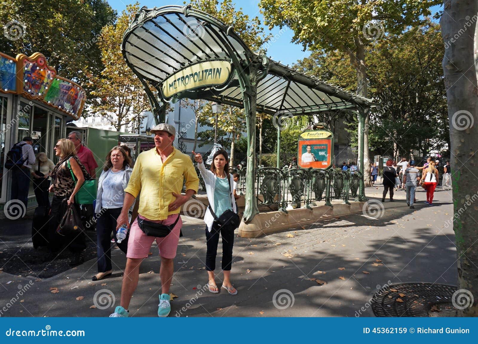 Entrée de souterrain de Frances de Paris