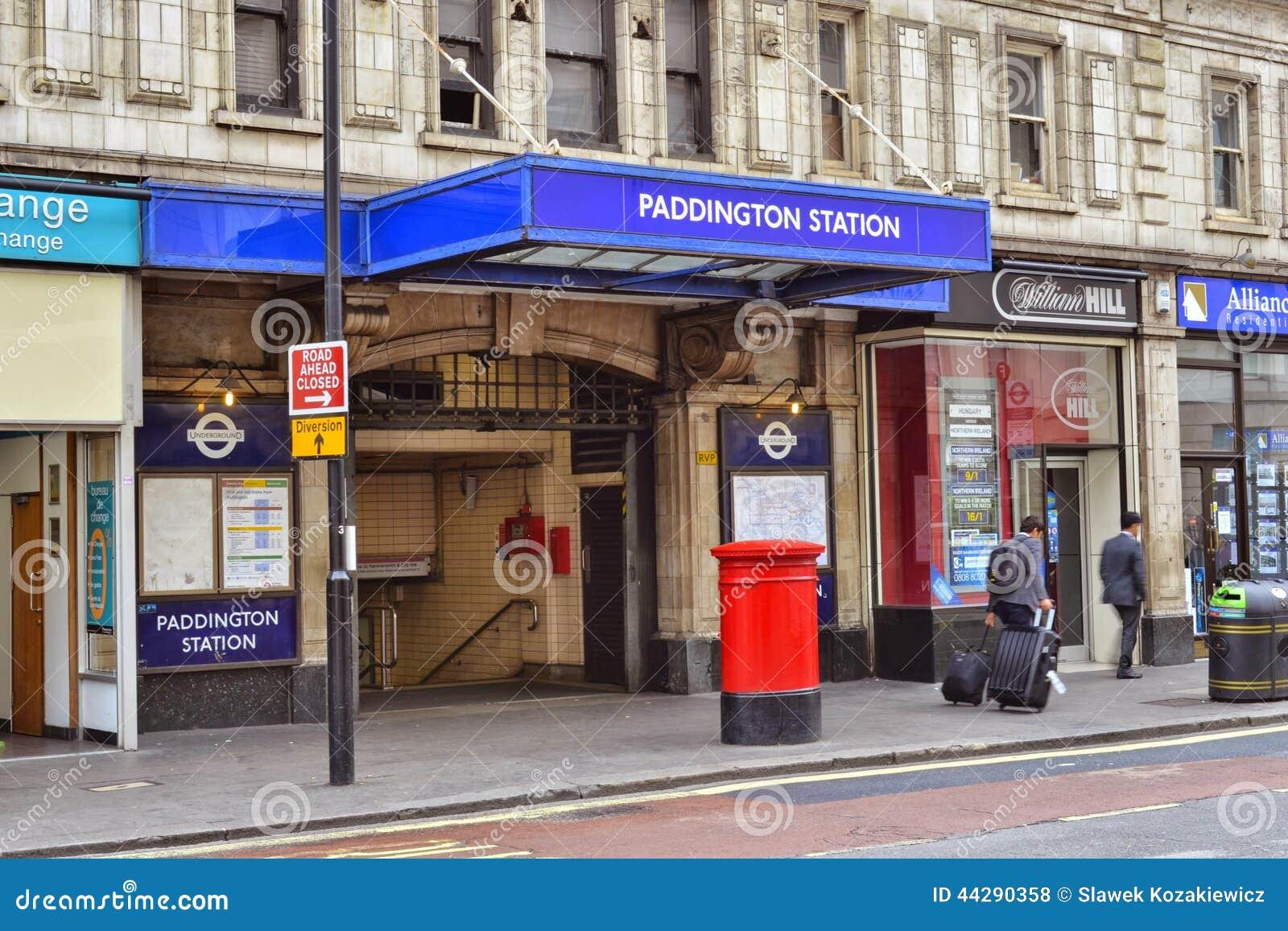 Entr e de station de m tro de londres paddington photo - Penthouse paddington londres en angleterre ...