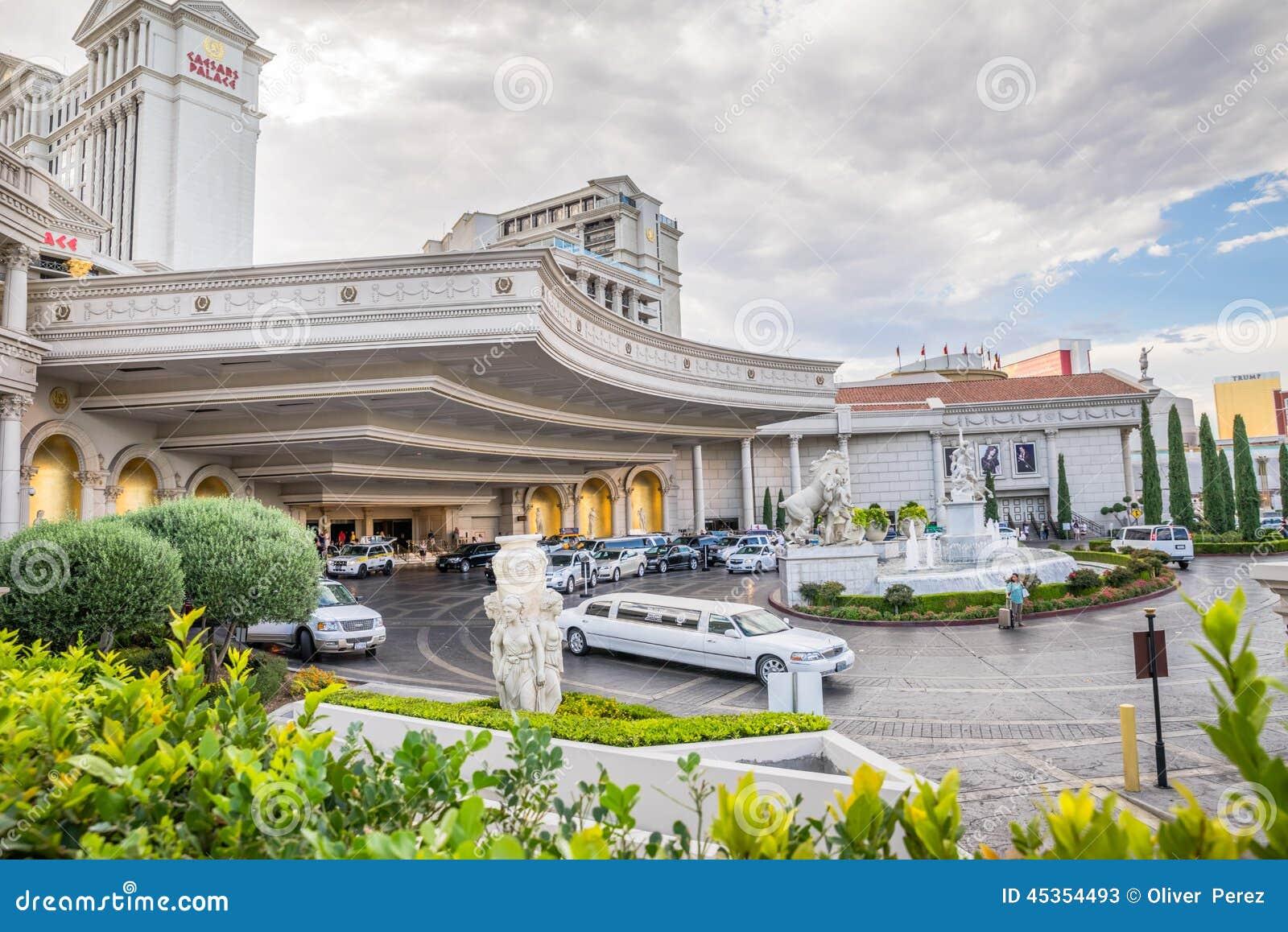 Entrée principale de lobby de Caesars Palace