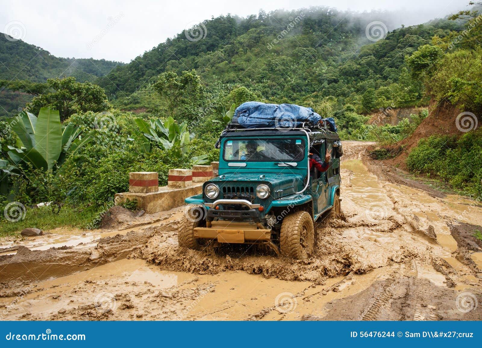 Entraînement extrême par Chin State, Myanmar