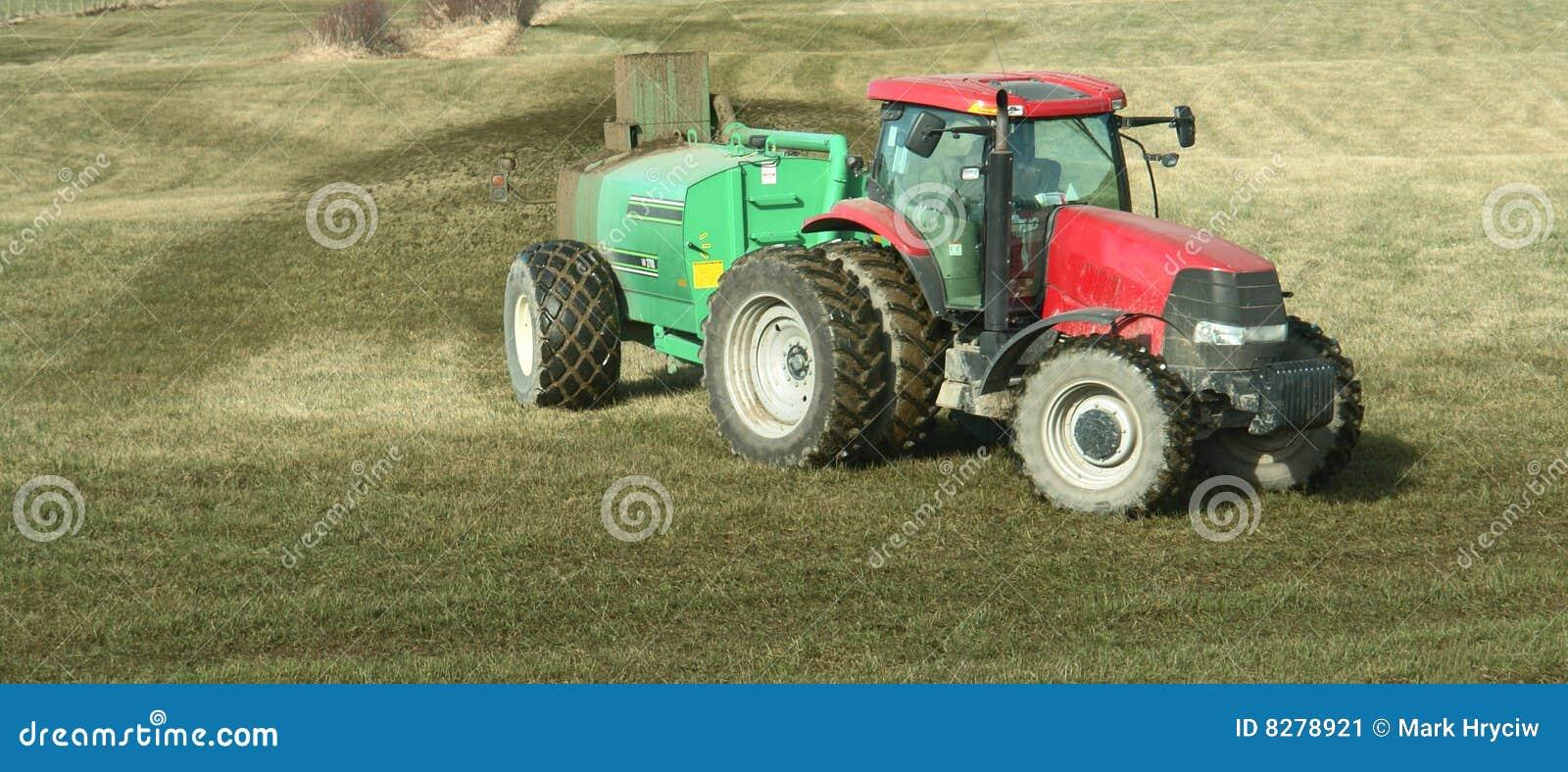 Entraîneur de fertilisation de ferme
