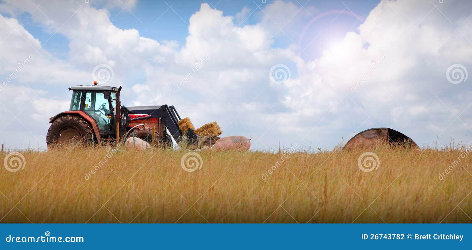 Entraîneur sur l horizontal de ferme