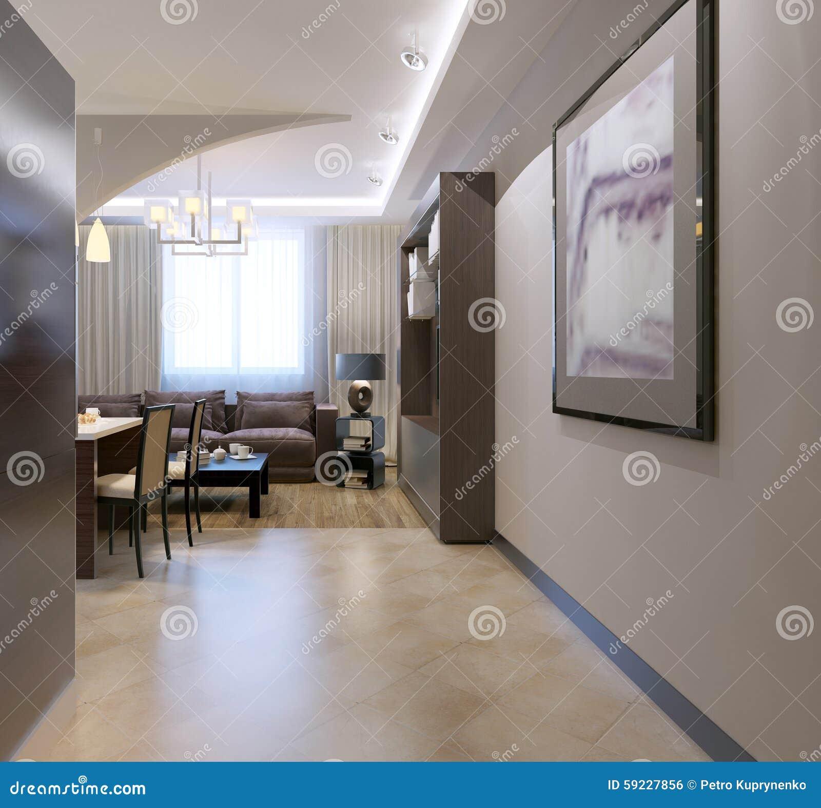 Download Entrada Al Estudio De La Cocina Stock de ilustración - Ilustración de pasillo, fachada: 59227856