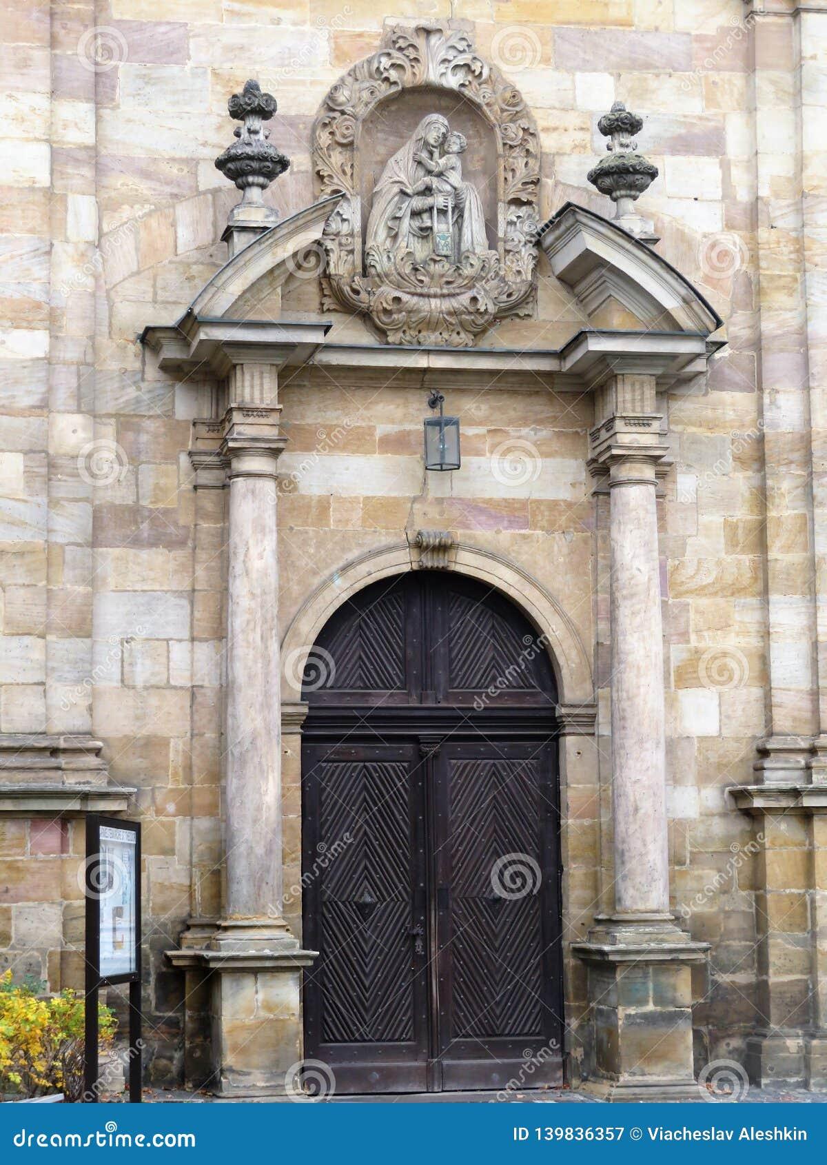 Entrada ao monastério carmelita