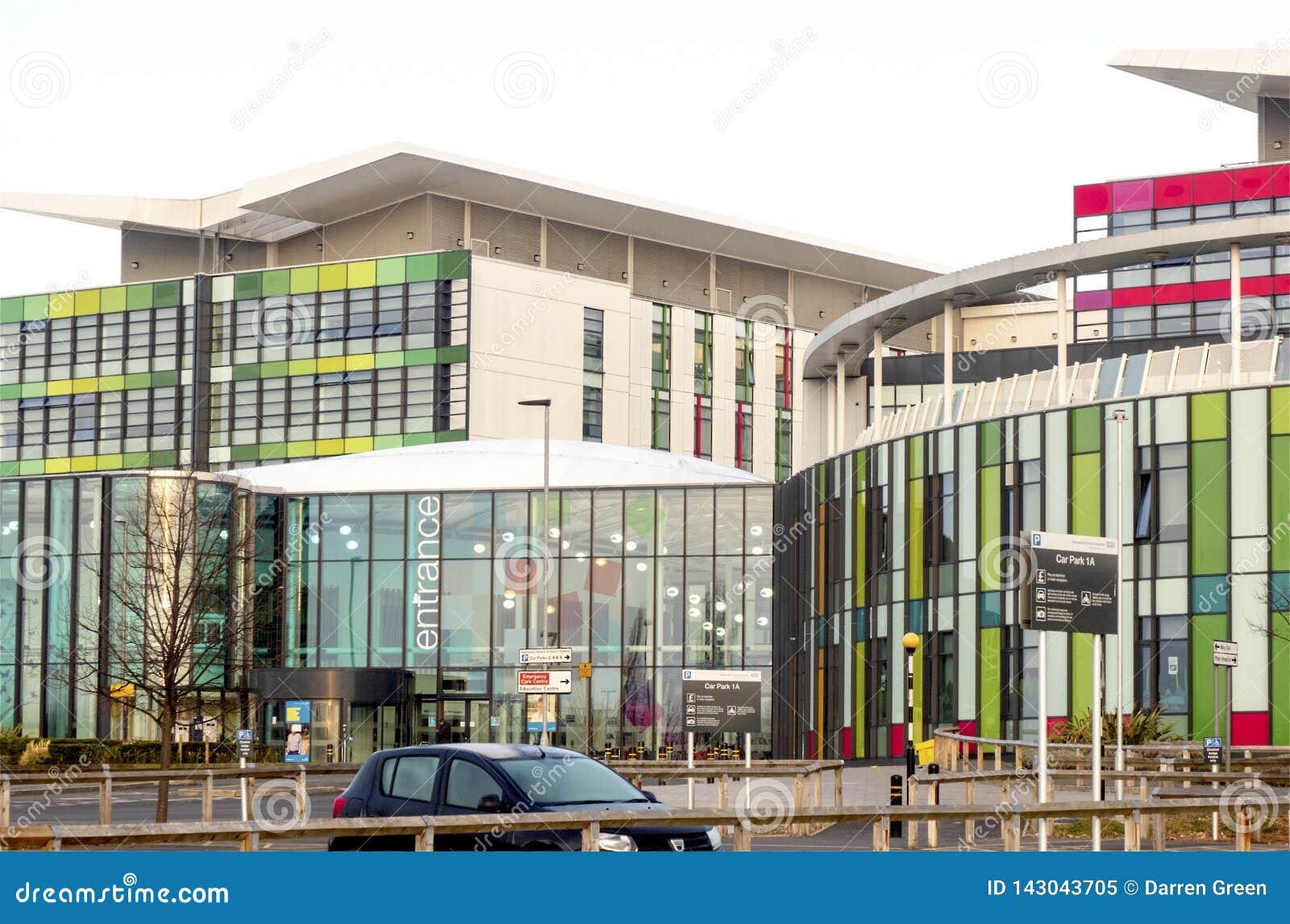 Entrada aos reis Moinho Hospital, Nottingham, Inglaterra