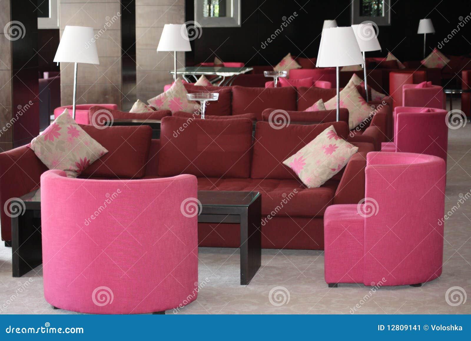 Entrada cor-de-rosa