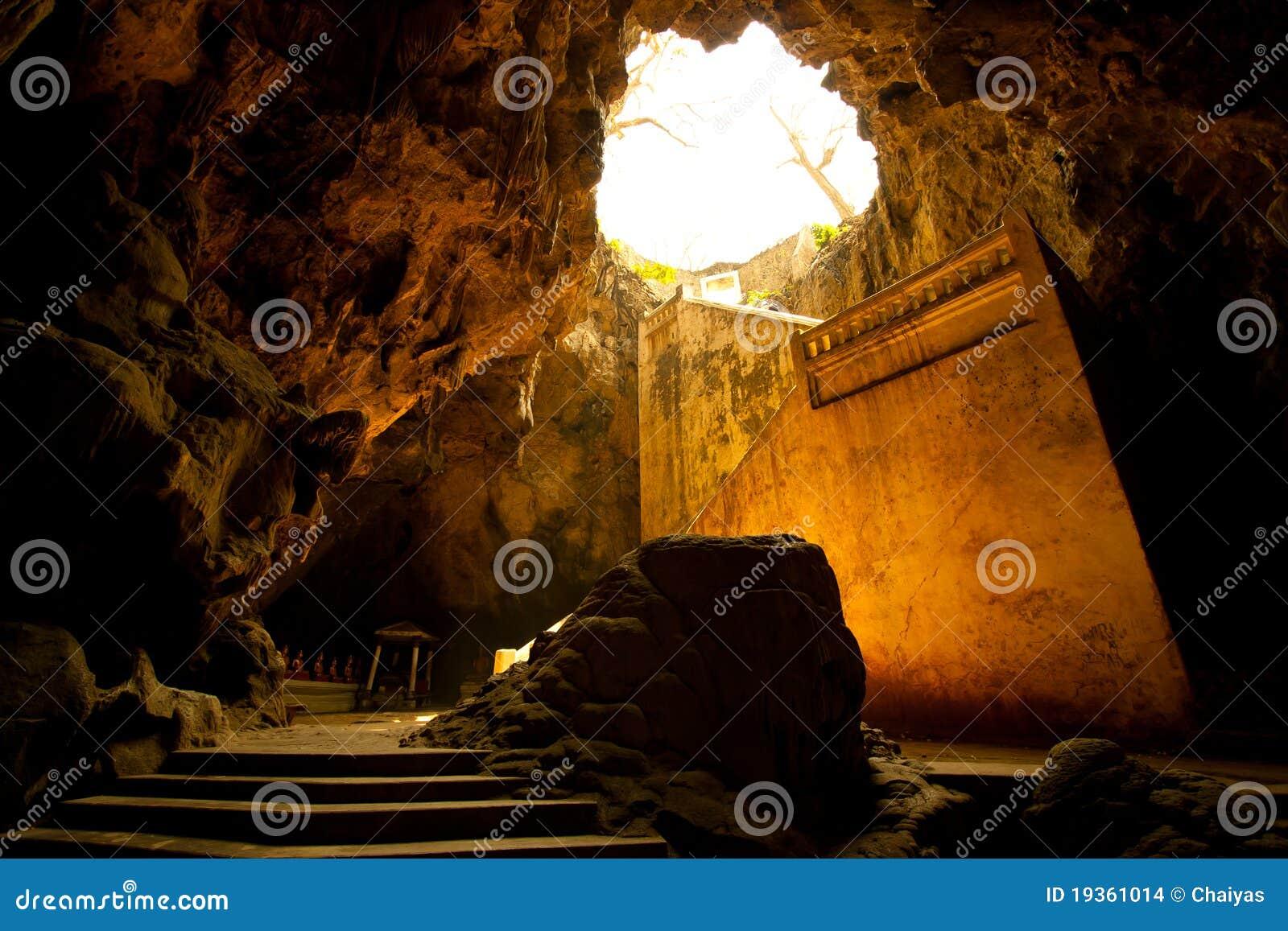 Entrada da caverna