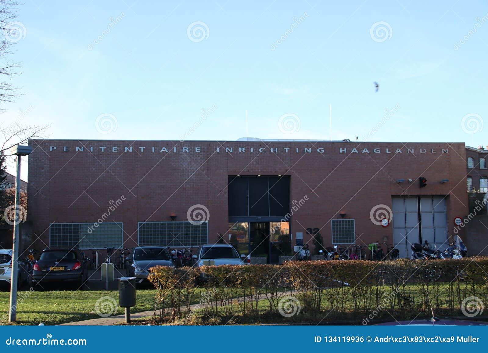 Entrada De La Cárcel De Scheveningen Que Se Utiliza También