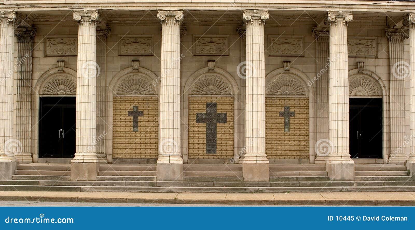 Entrada de la iglesia