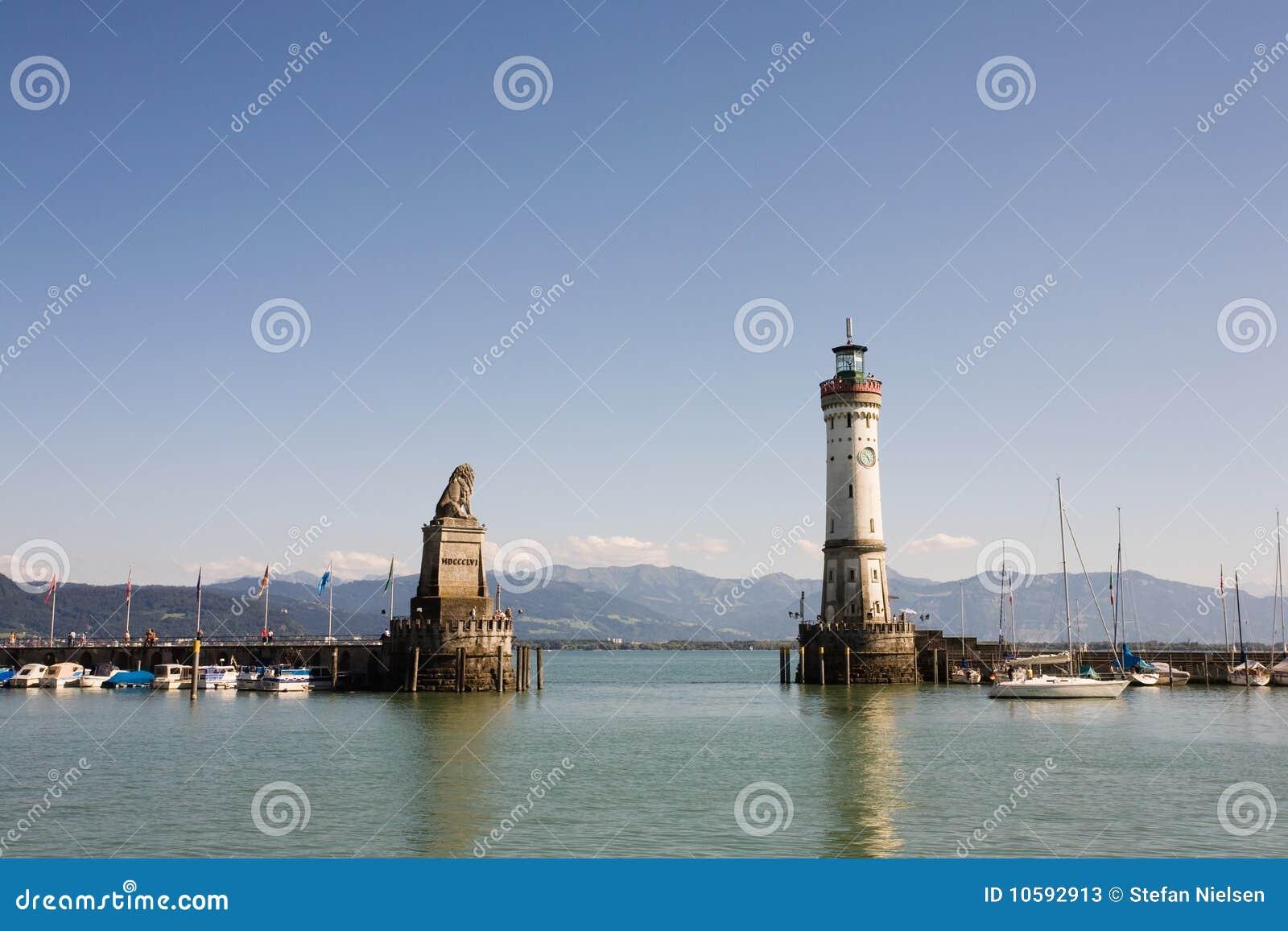 Entrada de puerto de Lindau