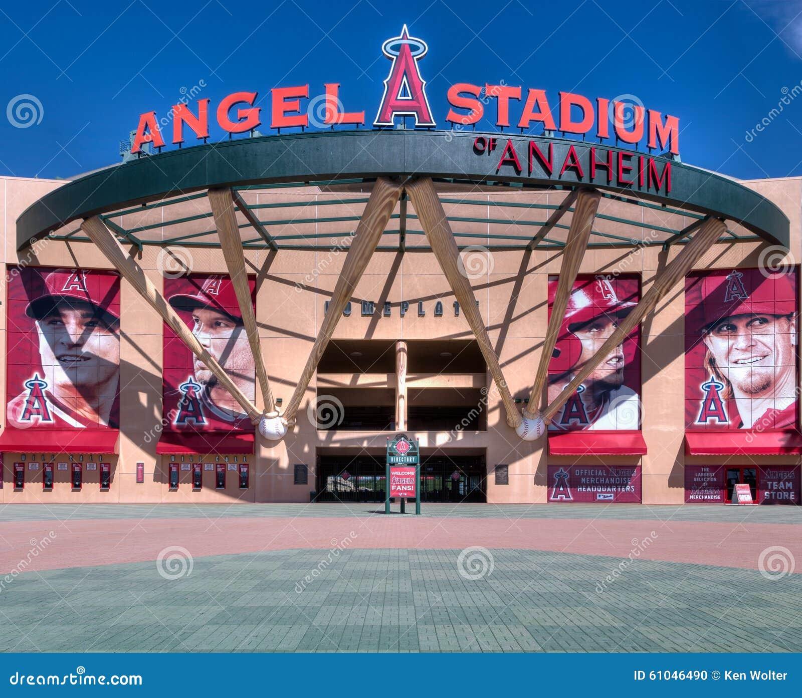 Entrada del Angel Stadium of Anaheim