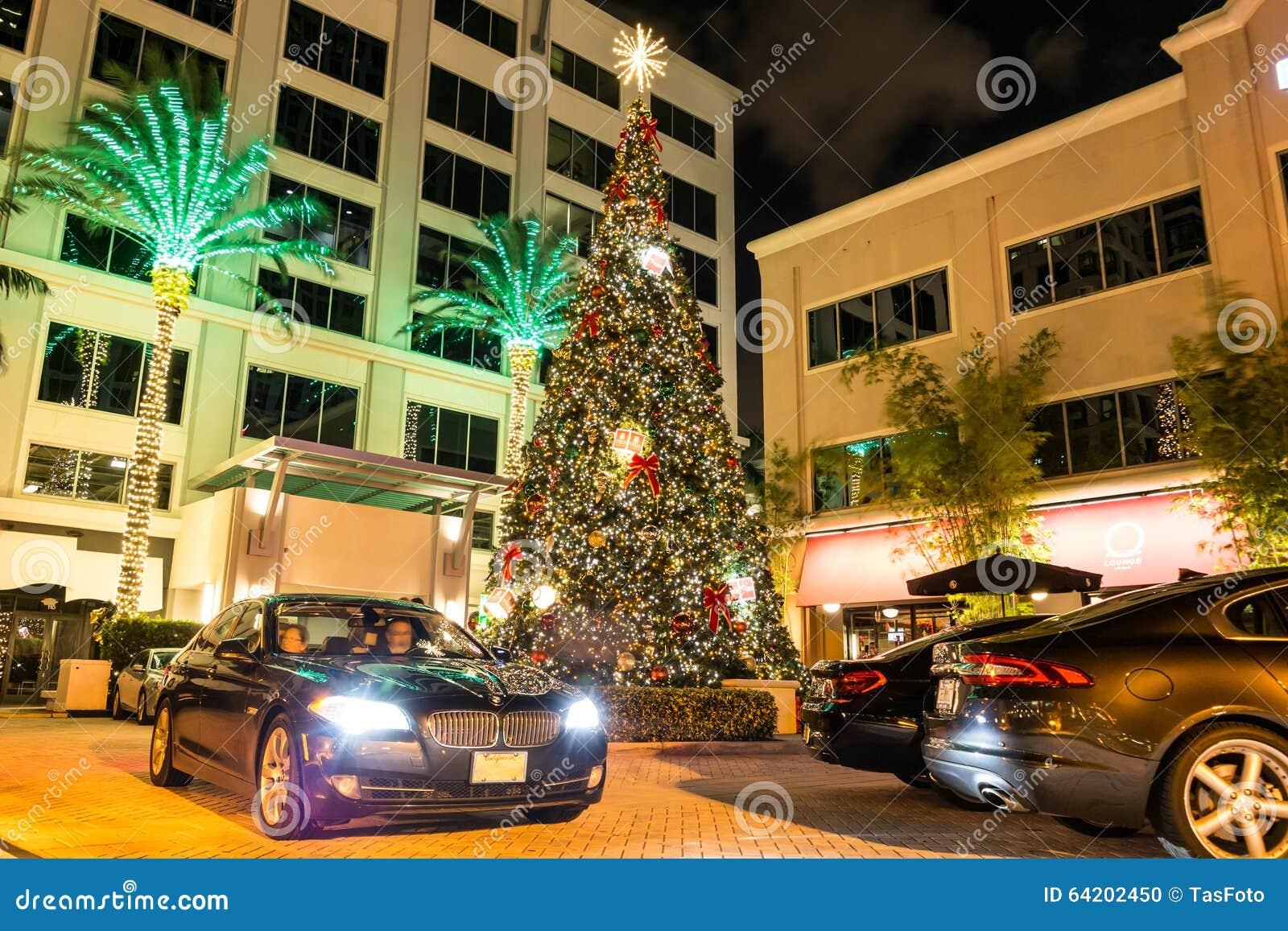 Entrada del hotel en el bulevar de los Olas de Las en el pie Lauderdale, la Florida