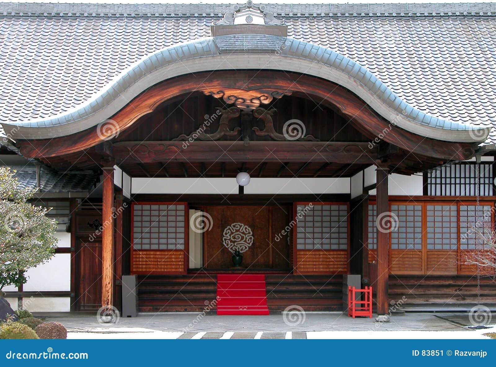 Entrada del templo budista