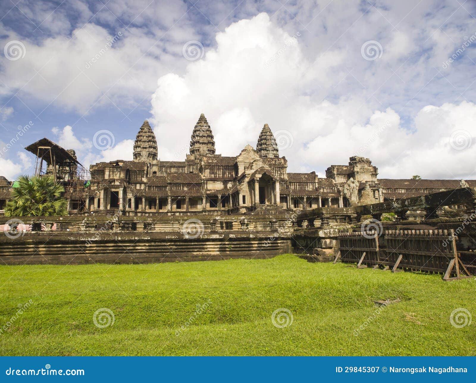 Entrada do leste de Angkor Wat