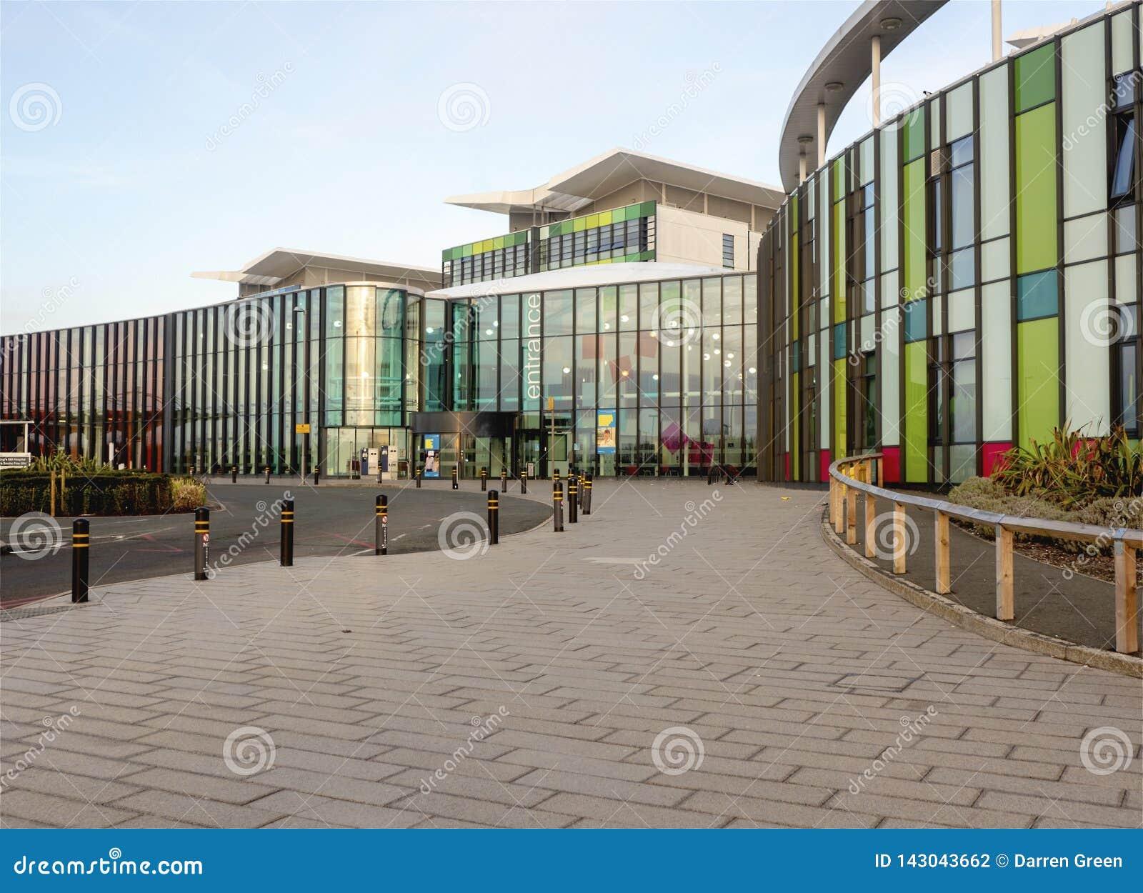 Entrada dos reis Moinho Hospital Nottingham, Inglaterra