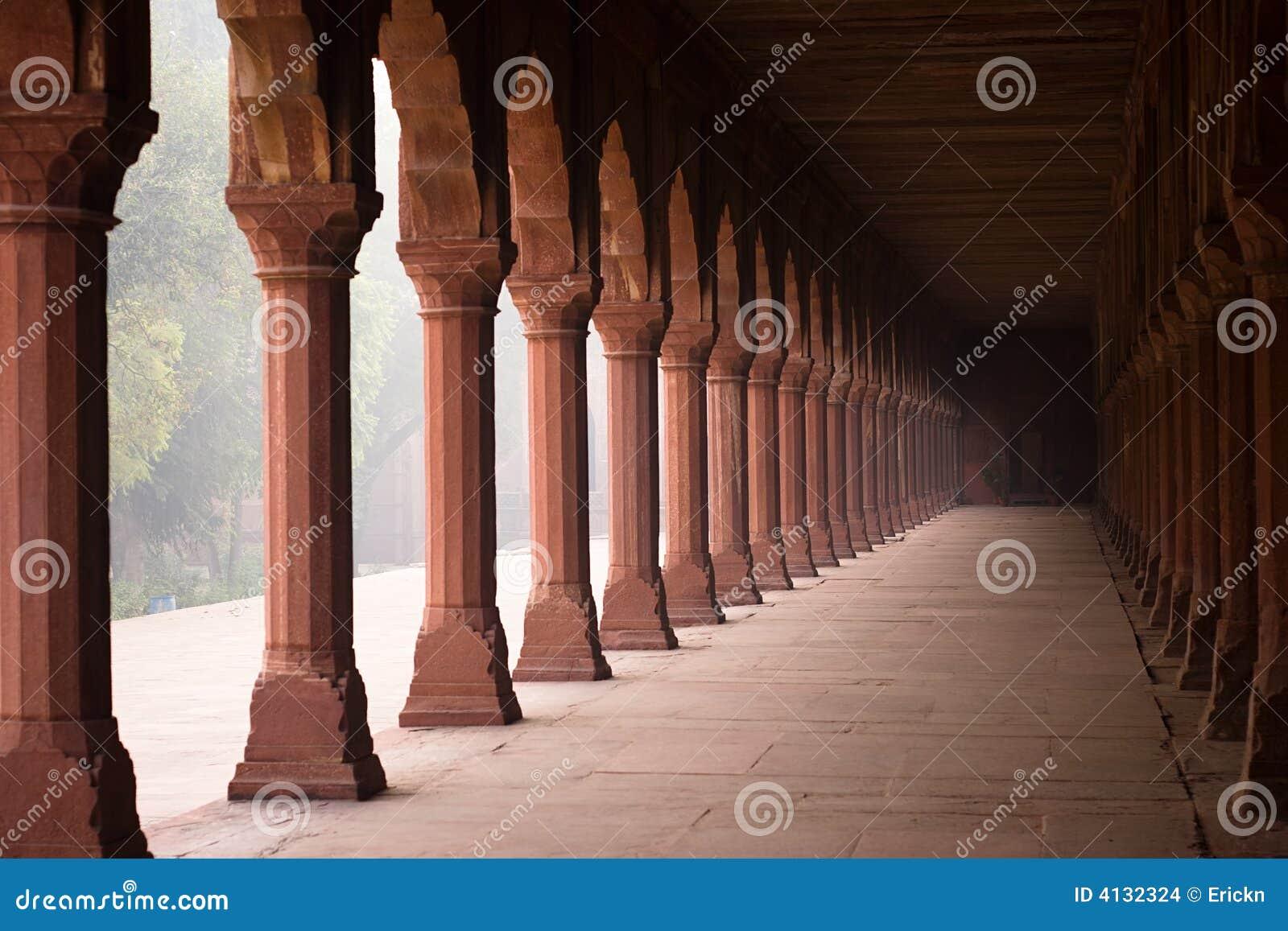 Entrance corridor to the taj mahal stock images image 4132324 - Corridor entrance ...