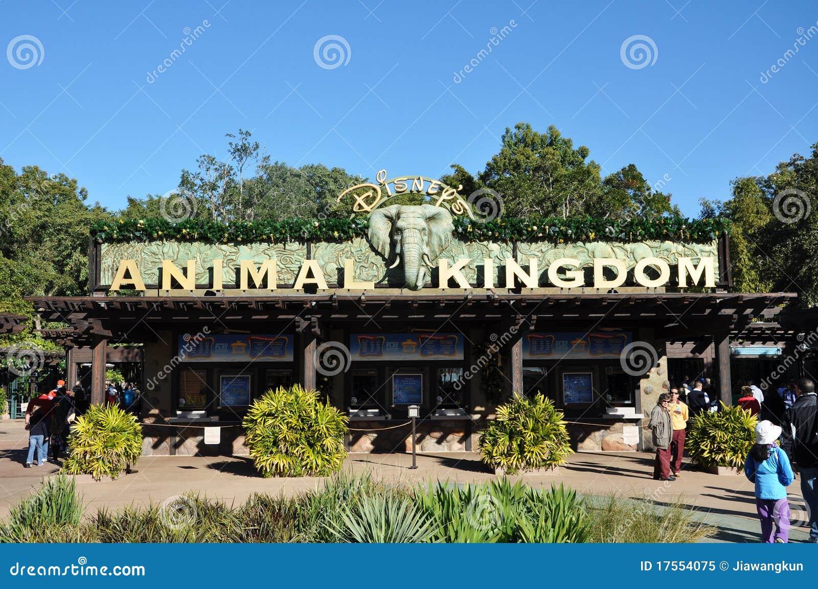 Entrance of Disney Animal Kingdom