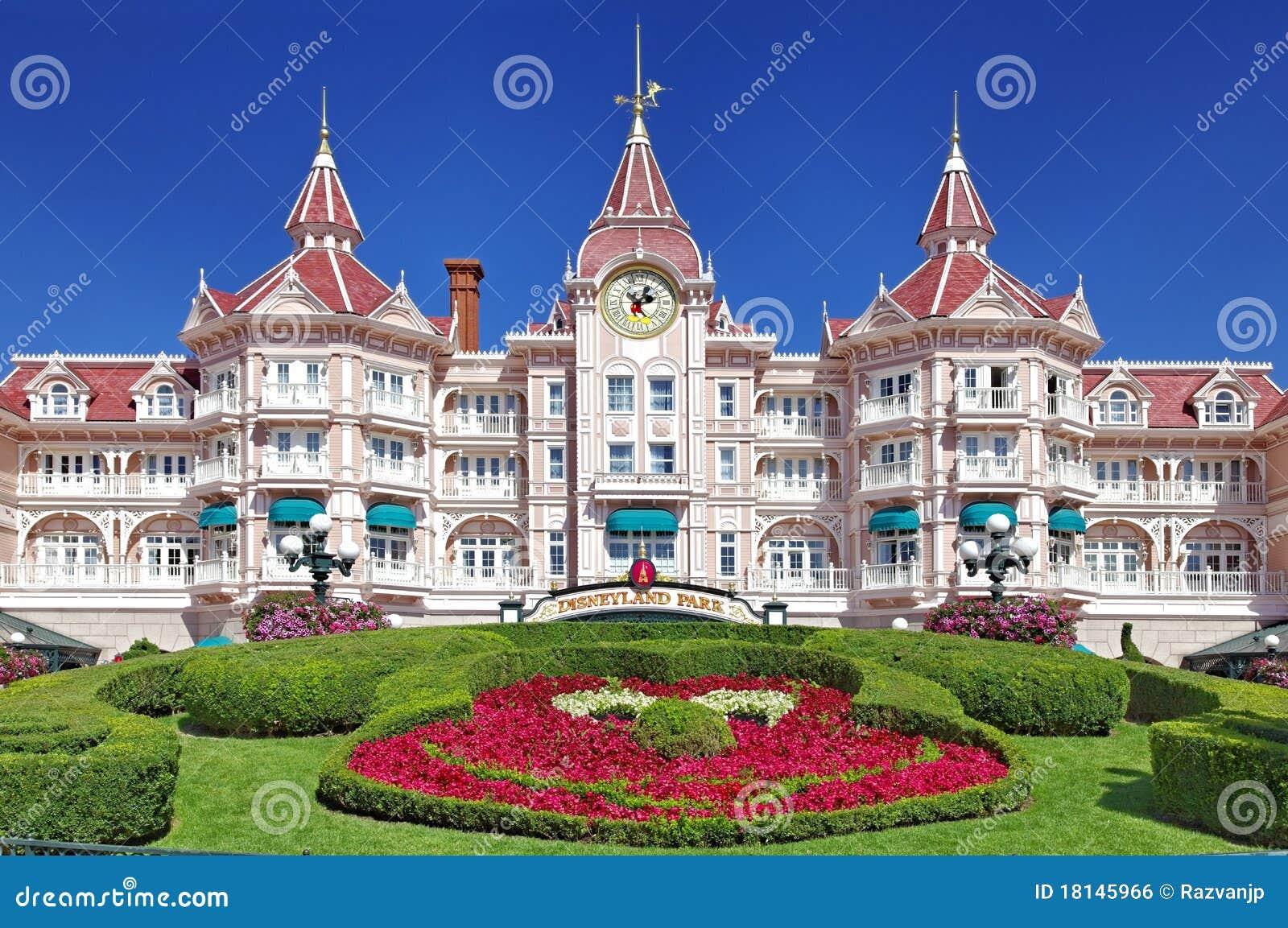 Entrance in Disneyland Paris