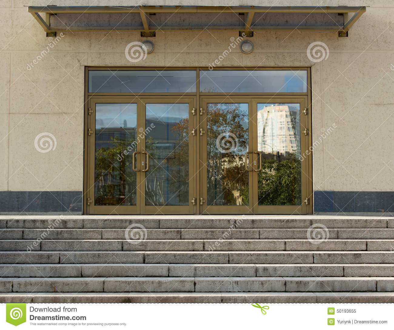 Office Building Entry Door Stock Image Image Of Architecture 38300673