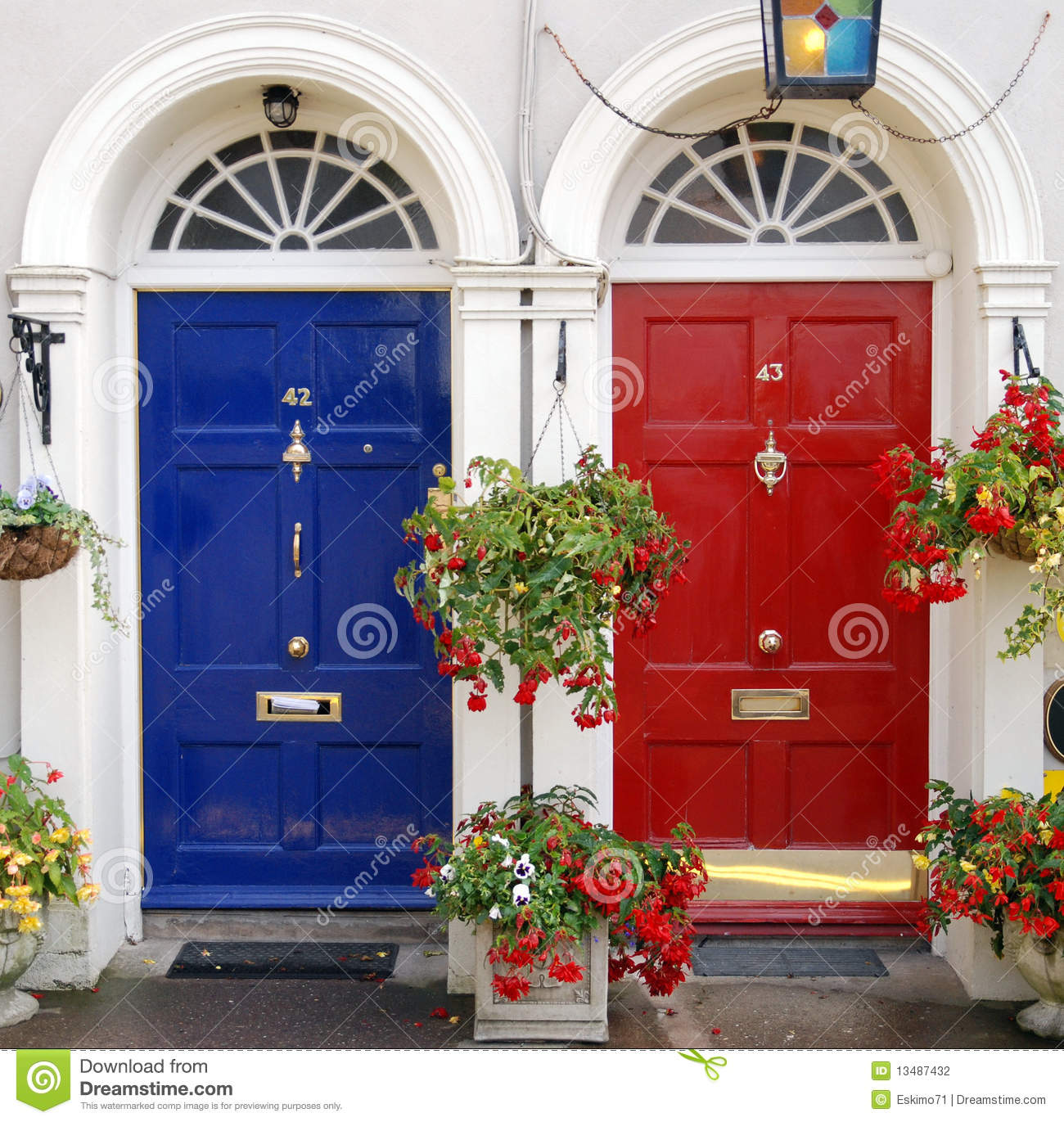 Entrance doors in Ireland Stock Photography & Doors of ireland stock image. Image of archway collage - 26618189