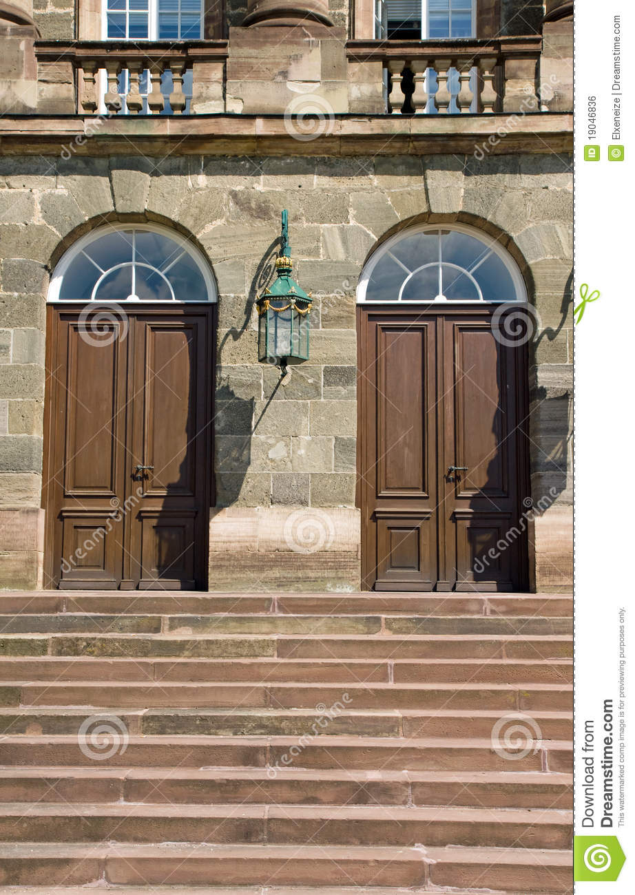 castle doors ... & Entrance Doors To An Old Castle Royalty Free Stock Image - Image ... Pezcame.Com