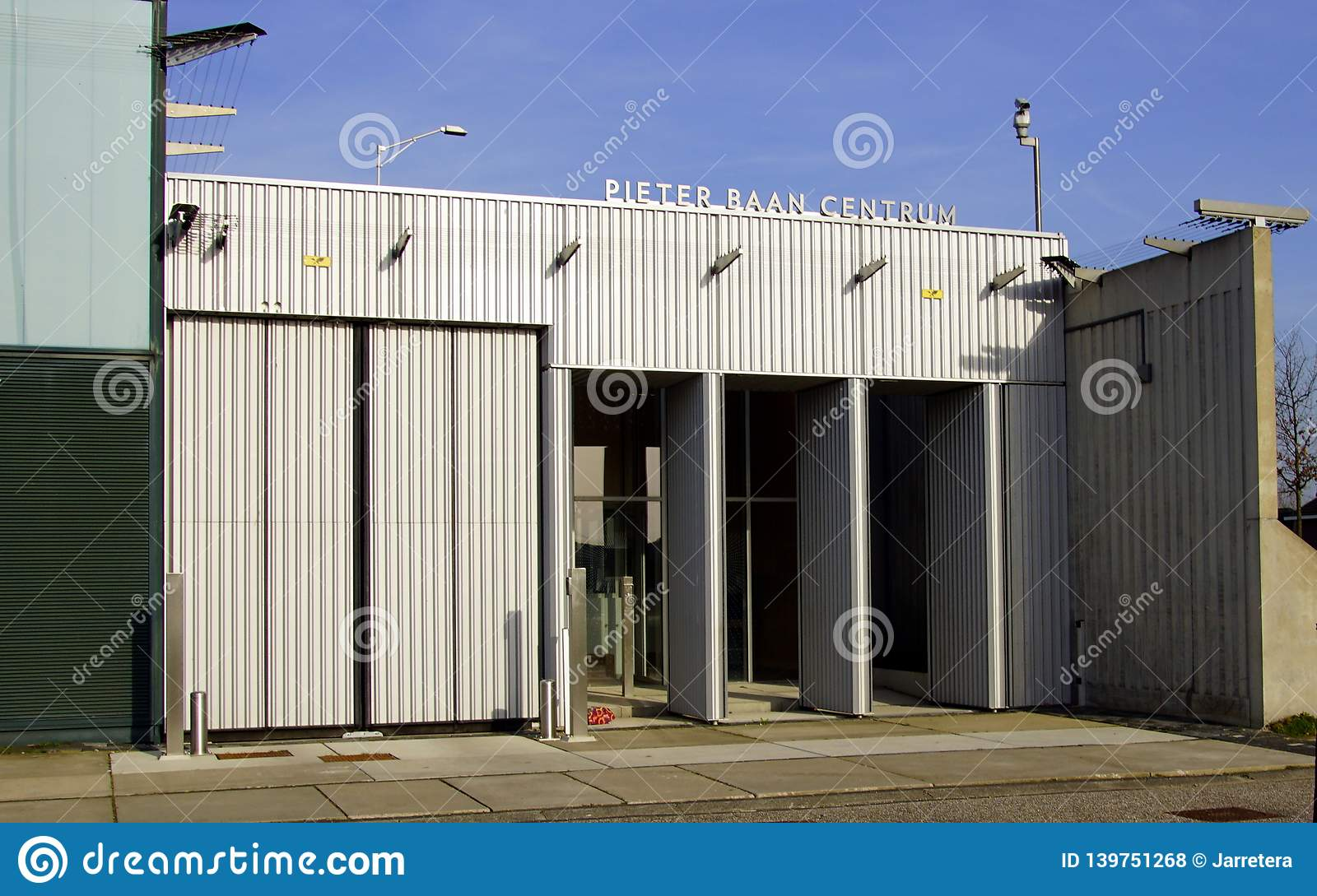 Entrance Of The Dutch Forensic Psychiatric Observation Clinic Pieter Baan Centre Almere Editorial Stock Photo Image Of Almere Illustrative 139751268