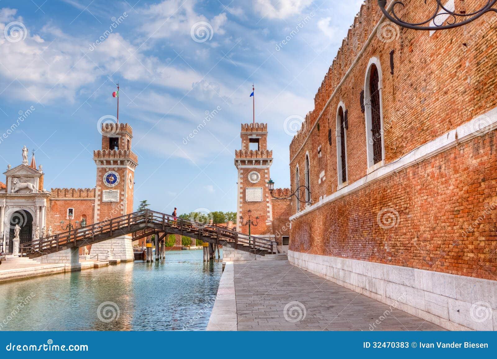 Entrance gate of the Arsenale, Venice