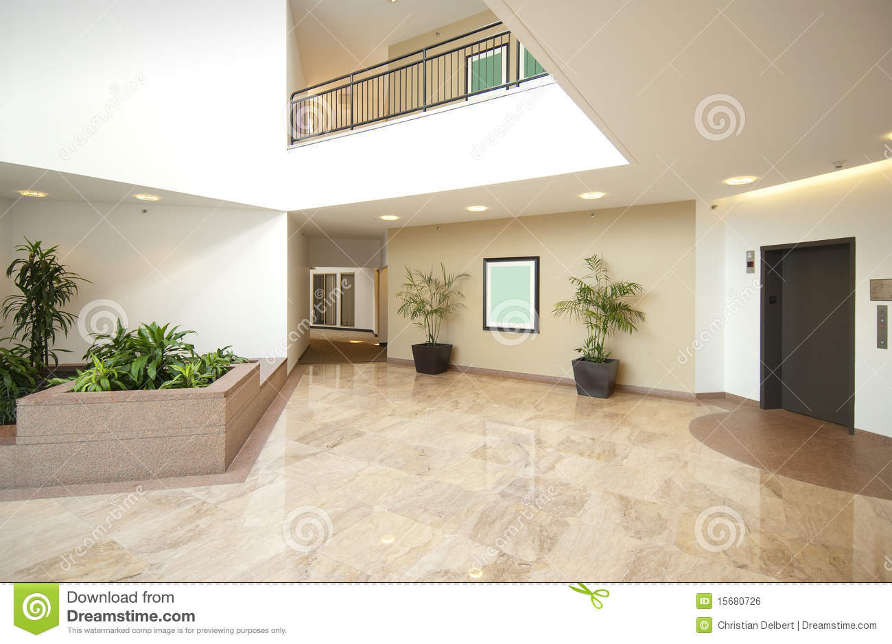 Entrance hall of business office royalty free stock image - Hall d entree maison photos ...
