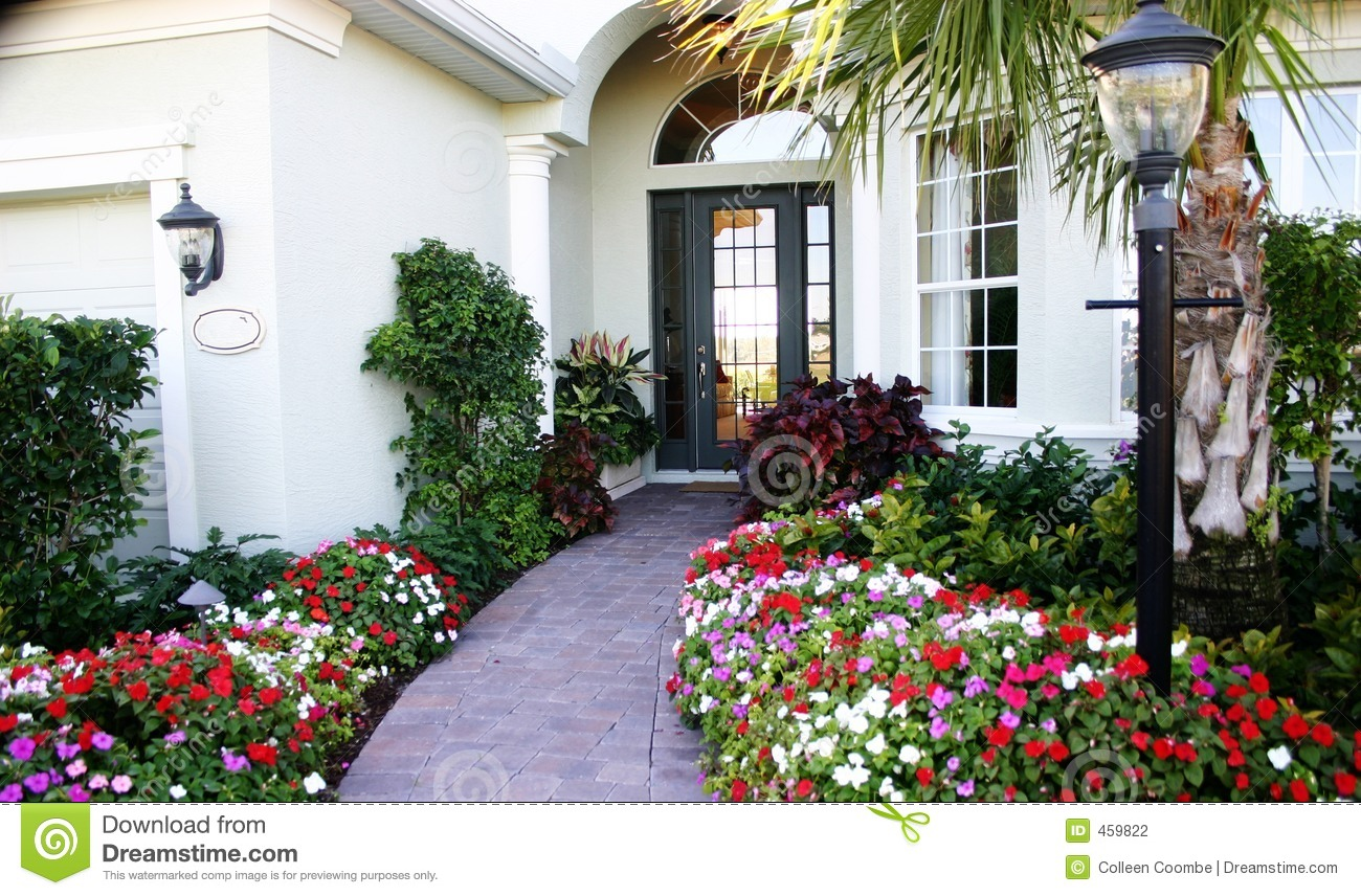 Entrance home to