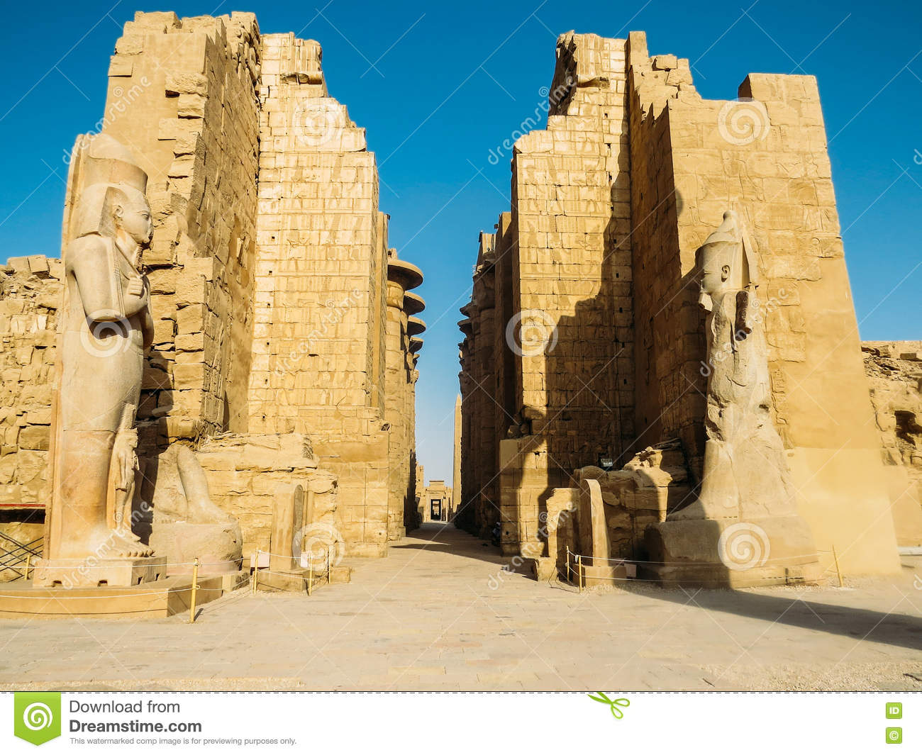 Entrance of the Karnak Temple