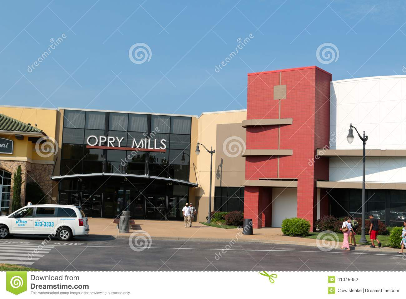 Entrance Of The Opry Mills Mall Nashville Tennessee