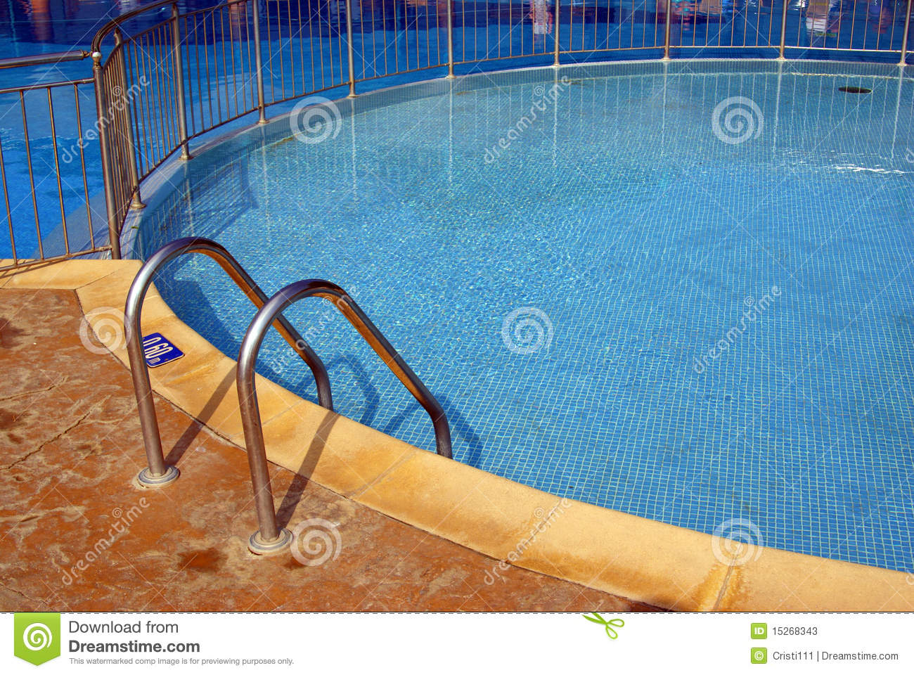 Entrance In Swimming Pool Stock Photos Image 15268343